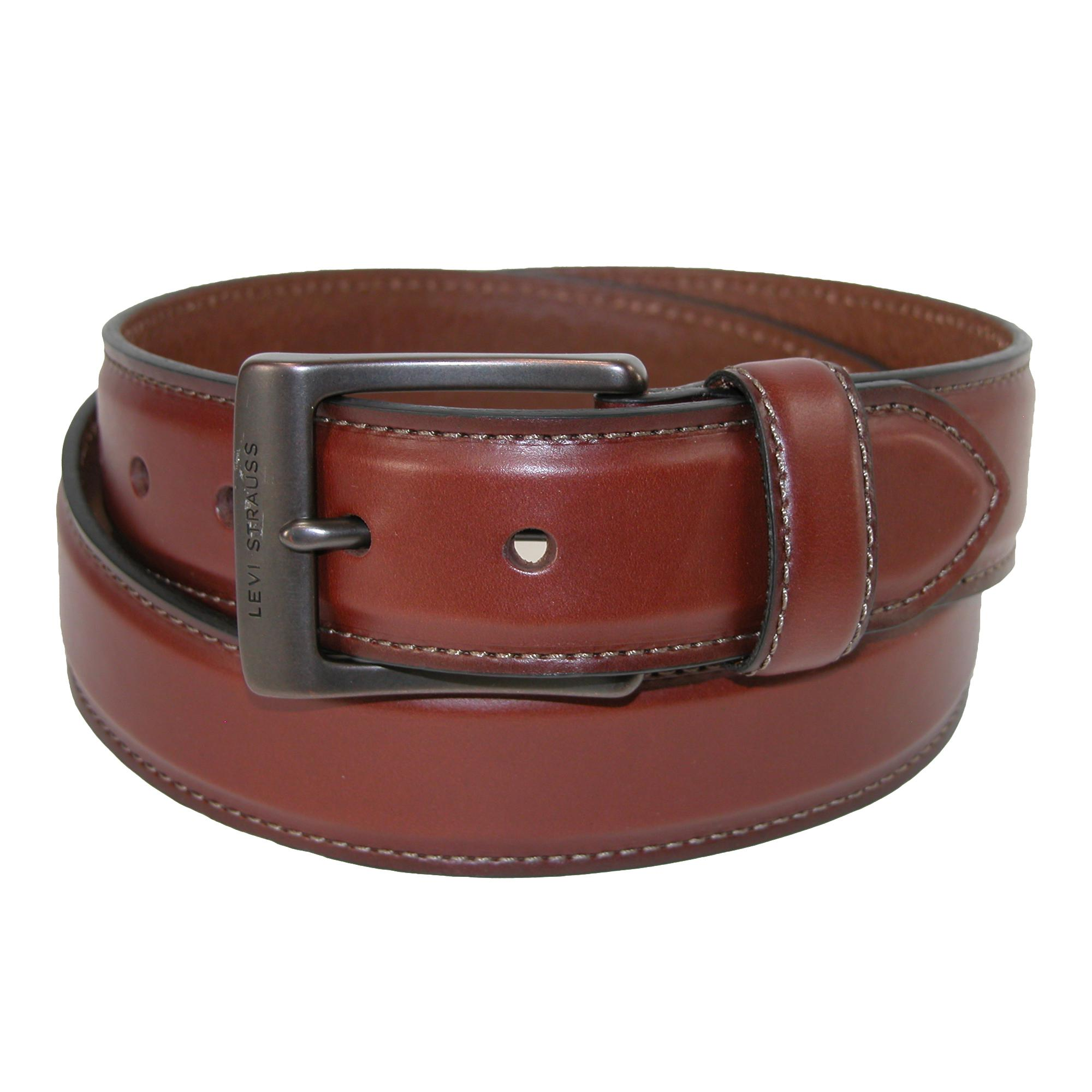 Levis Mens Contrast Stitch Bridle Belt