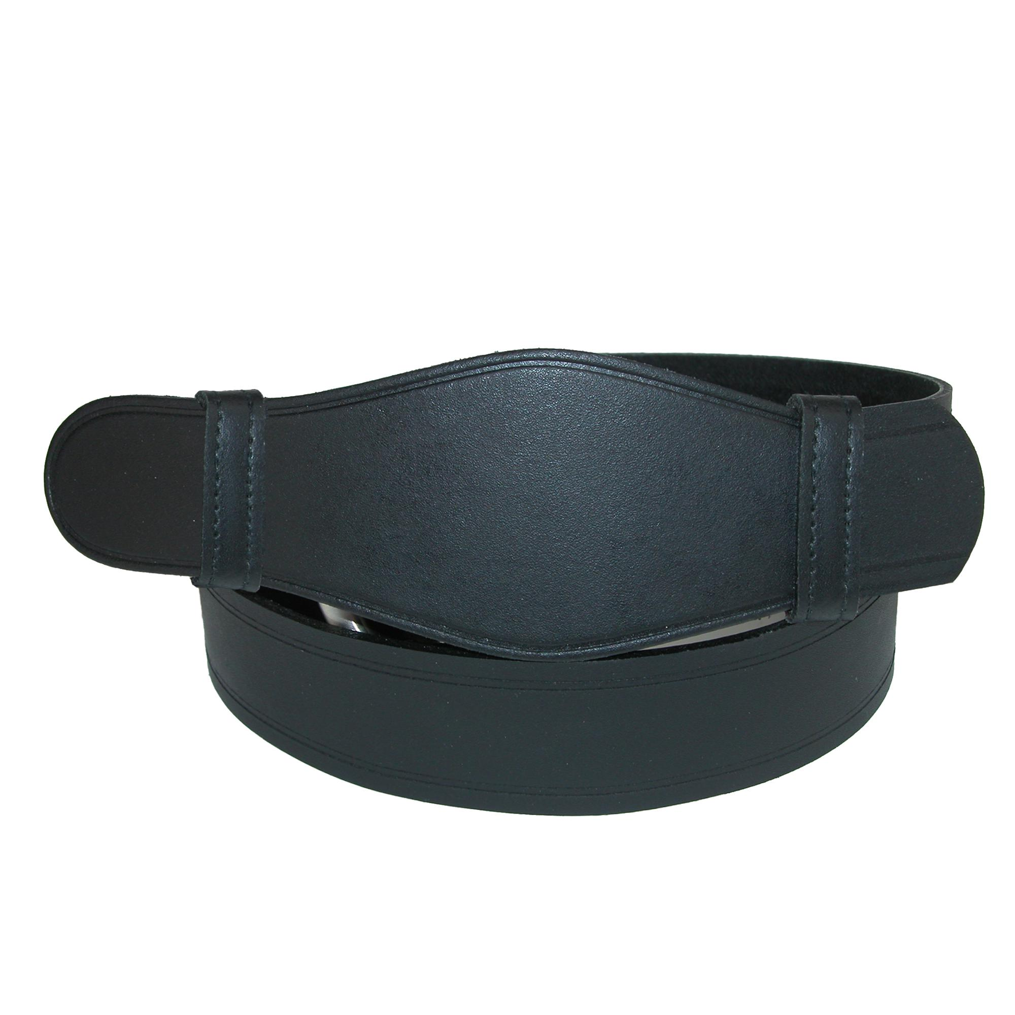 Landes Men's Big & Tall No Scratch Work Belt With Leather Cover