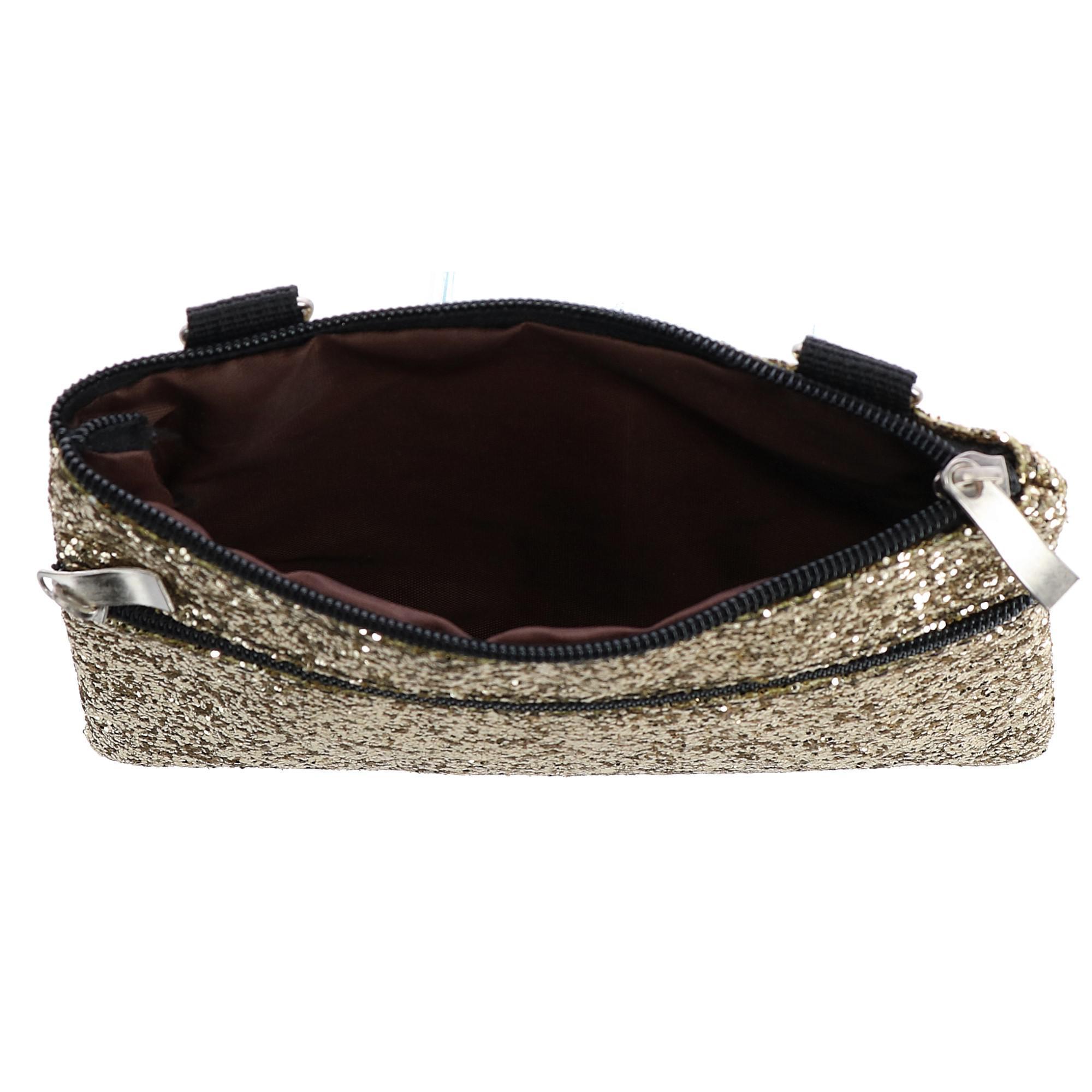 New-2-Moda-Fashion-Glitter-Waist-Pack-Convertible-Cross-Body-Bag thumbnail 3