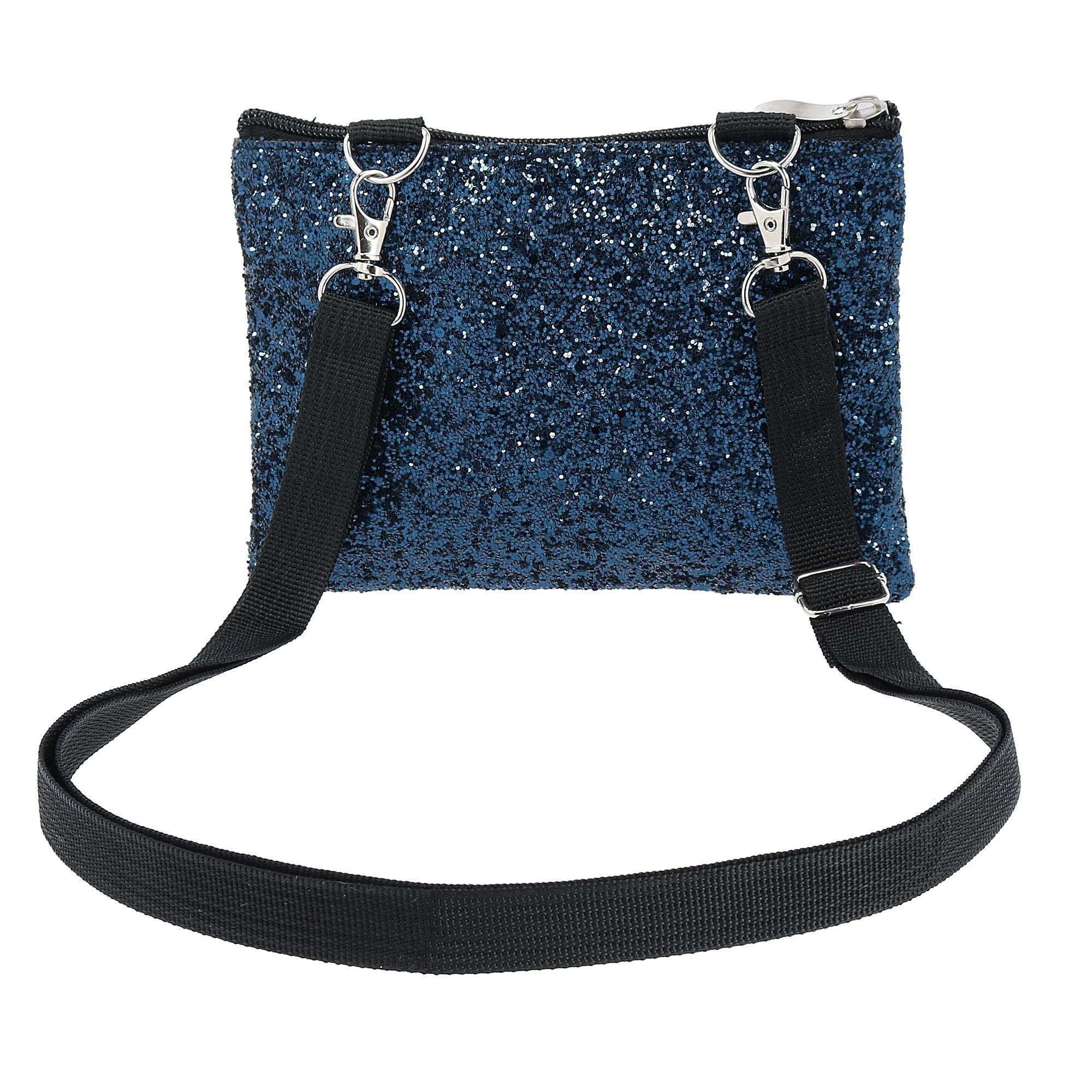 New-2-Moda-Fashion-Glitter-Waist-Pack-Convertible-Cross-Body-Bag thumbnail 7