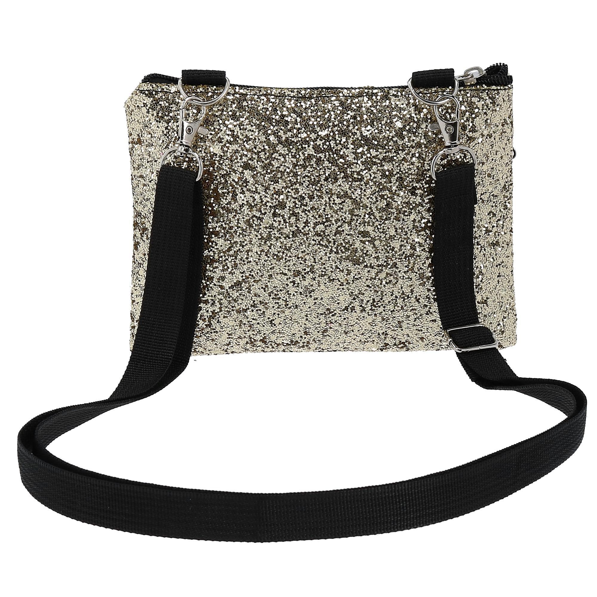 New-2-Moda-Fashion-Glitter-Waist-Pack-Convertible-Cross-Body-Bag thumbnail 10