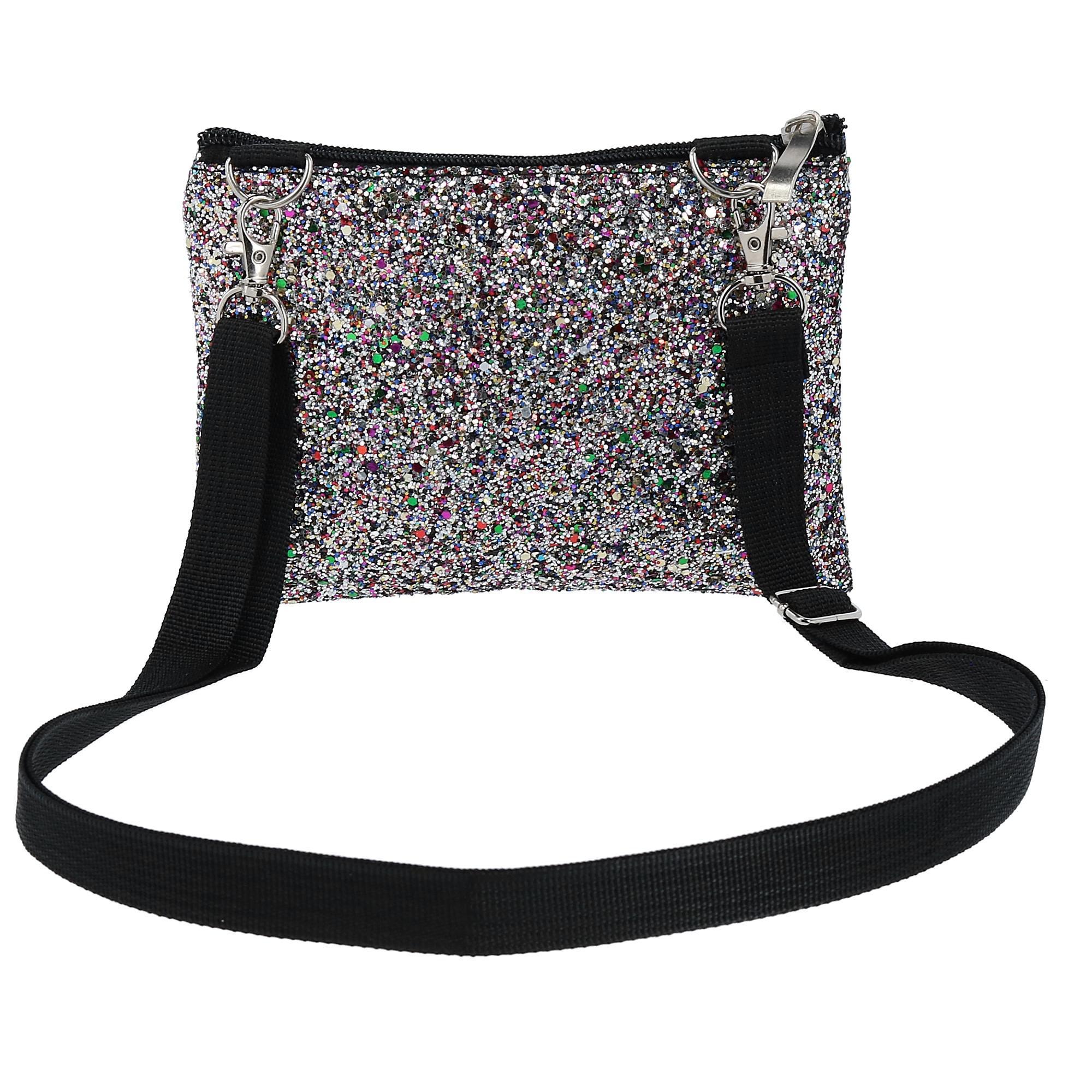 New-2-Moda-Fashion-Glitter-Waist-Pack-Convertible-Cross-Body-Bag thumbnail 13