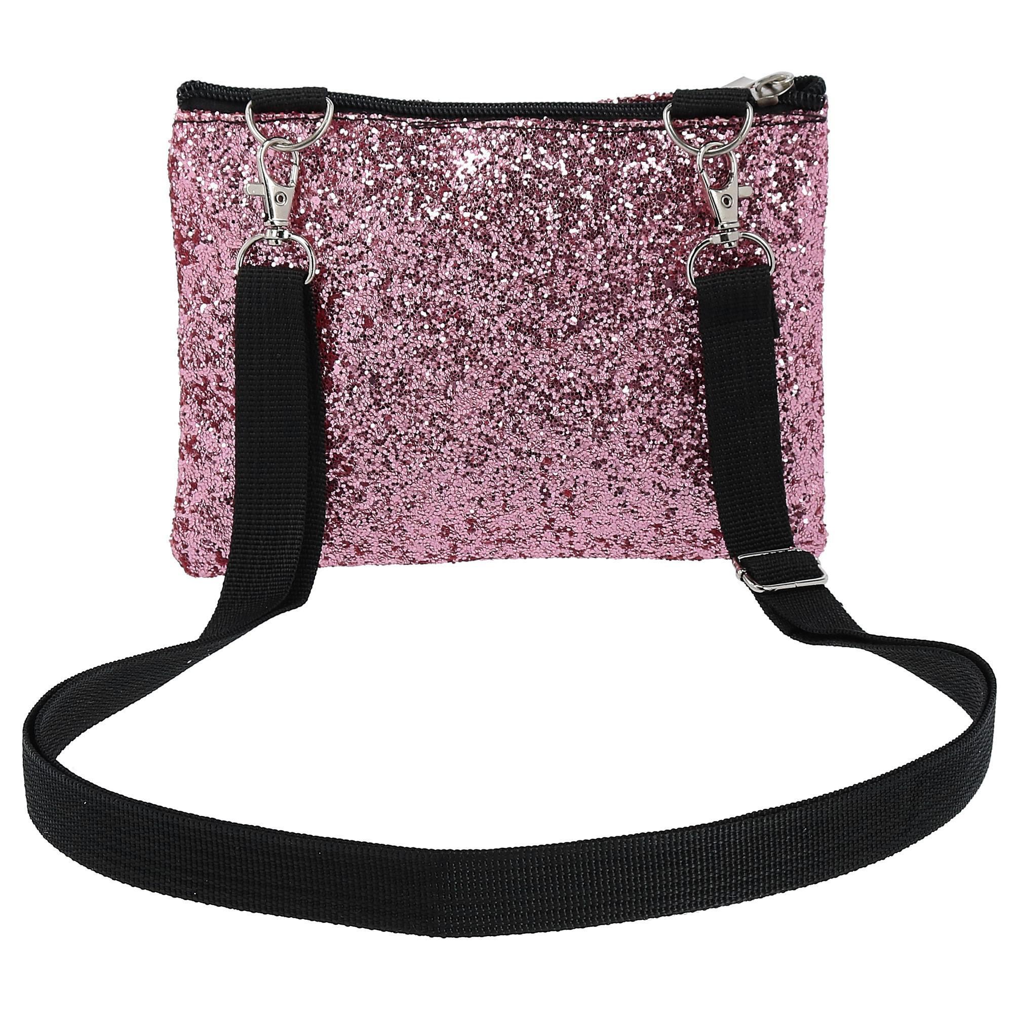 New-2-Moda-Fashion-Glitter-Waist-Pack-Convertible-Cross-Body-Bag thumbnail 16