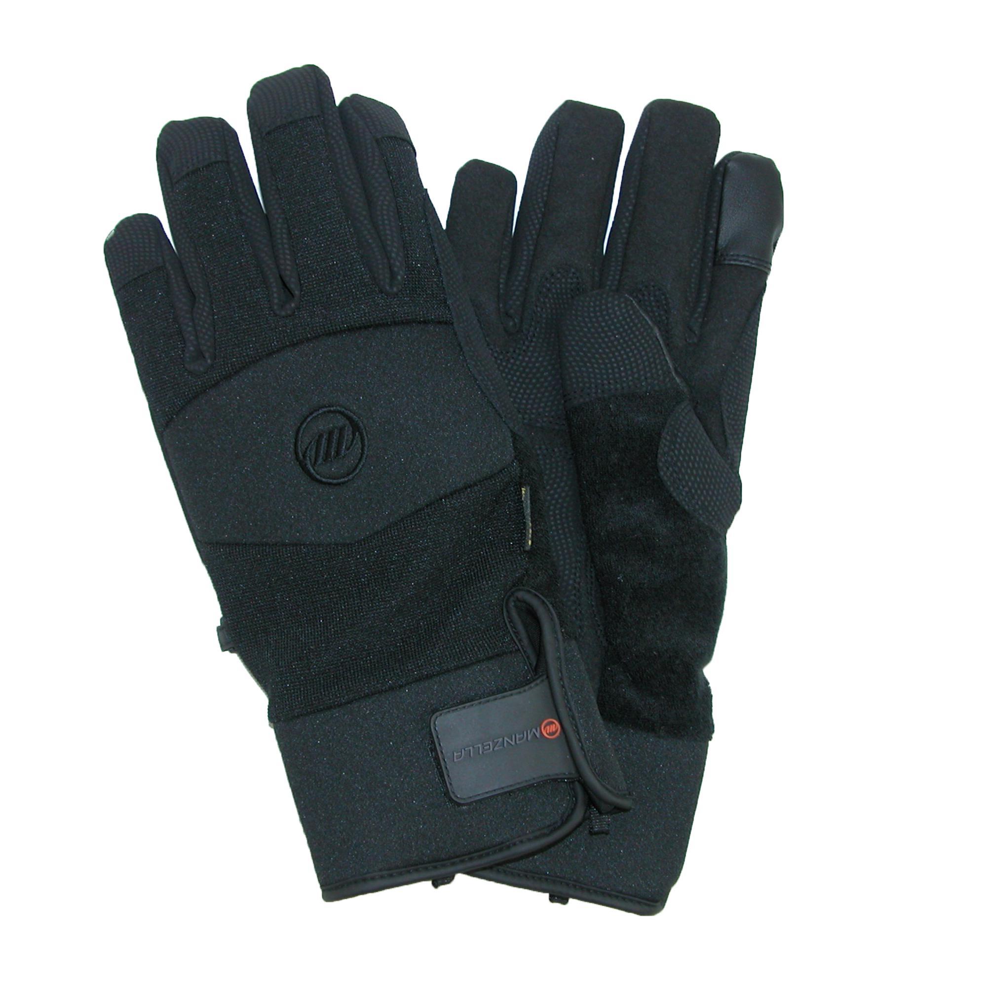 Manzella Mens Ranch Hand Touch Screen Work Gloves