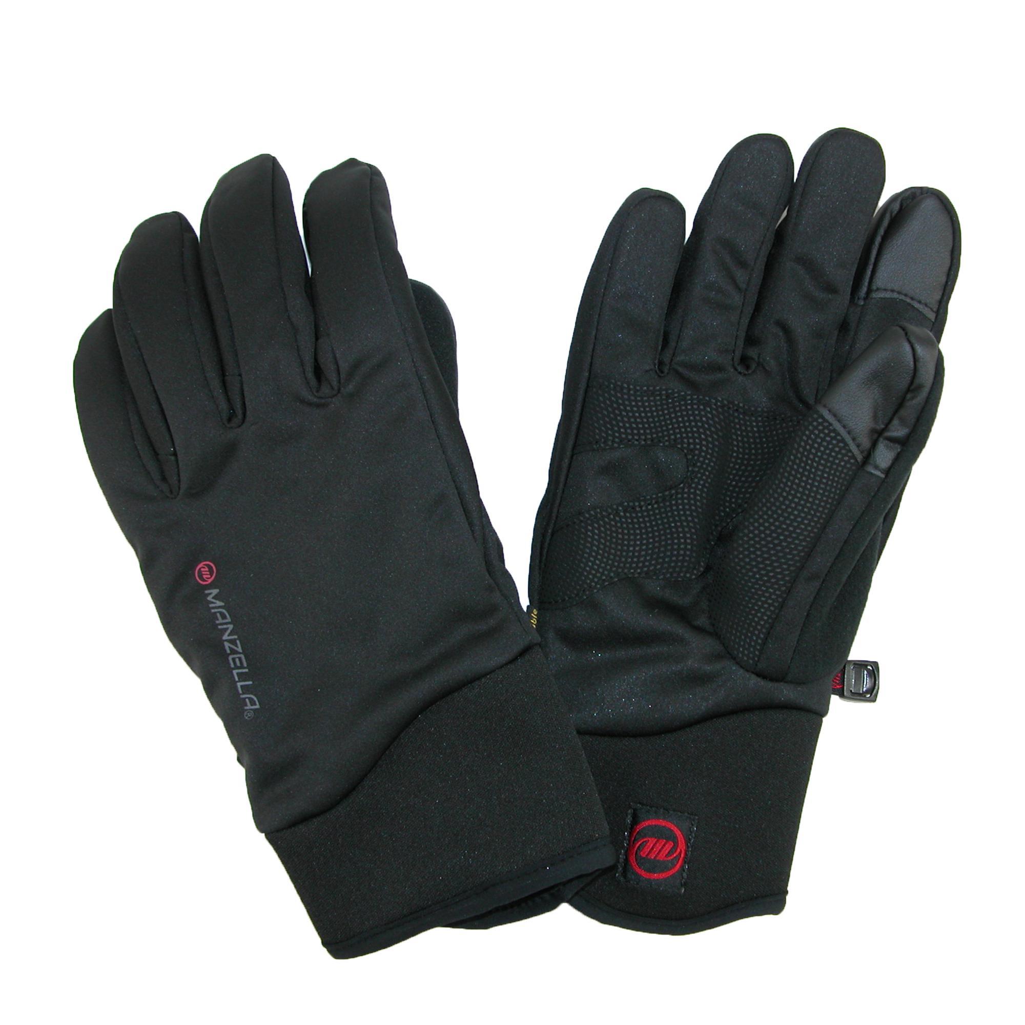 Manzella Mens All Elements 3.0 Touch Screen Waterproof Gloves