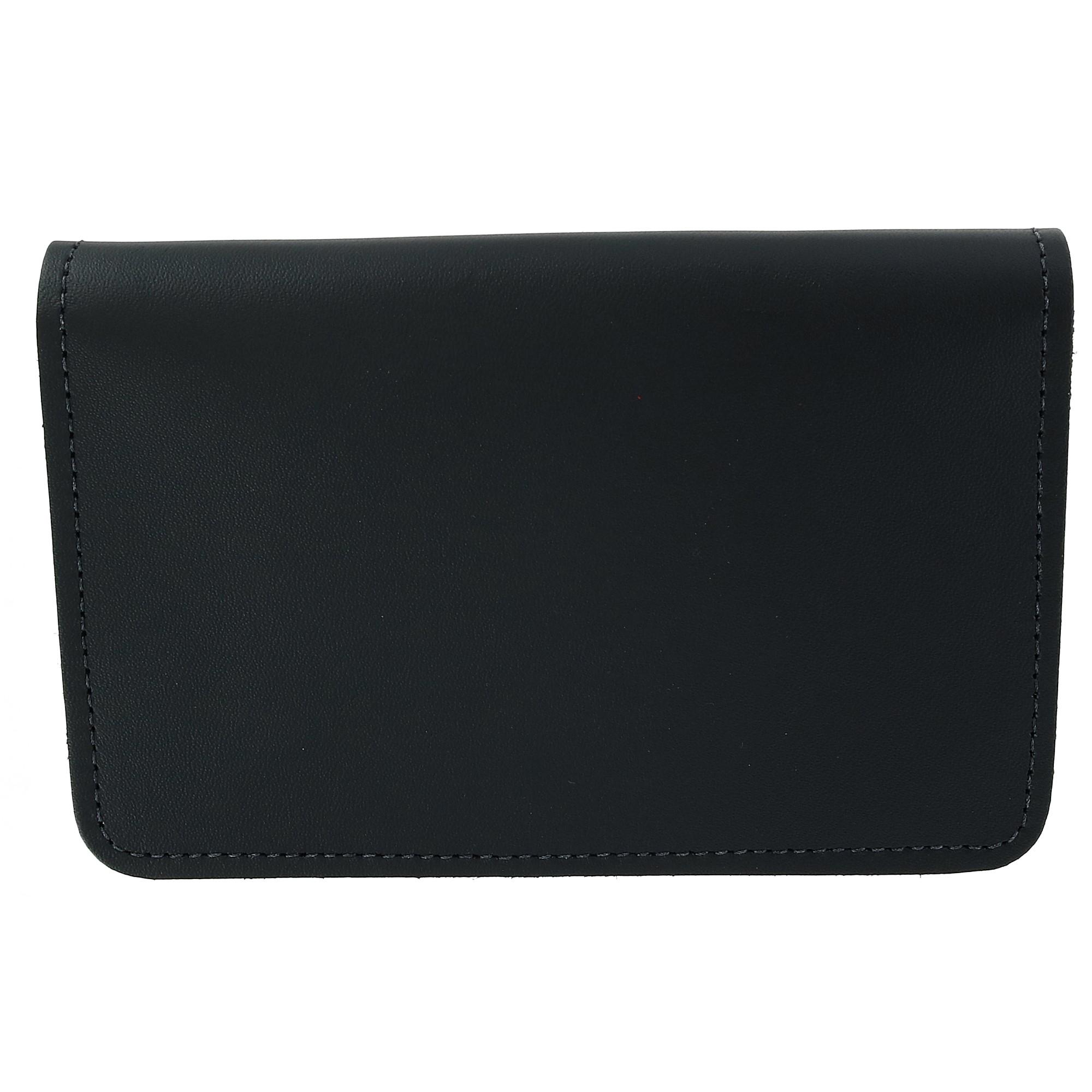 CTM_Leather_Top_Stub_Checkbook_Cover_-_Black_one_size