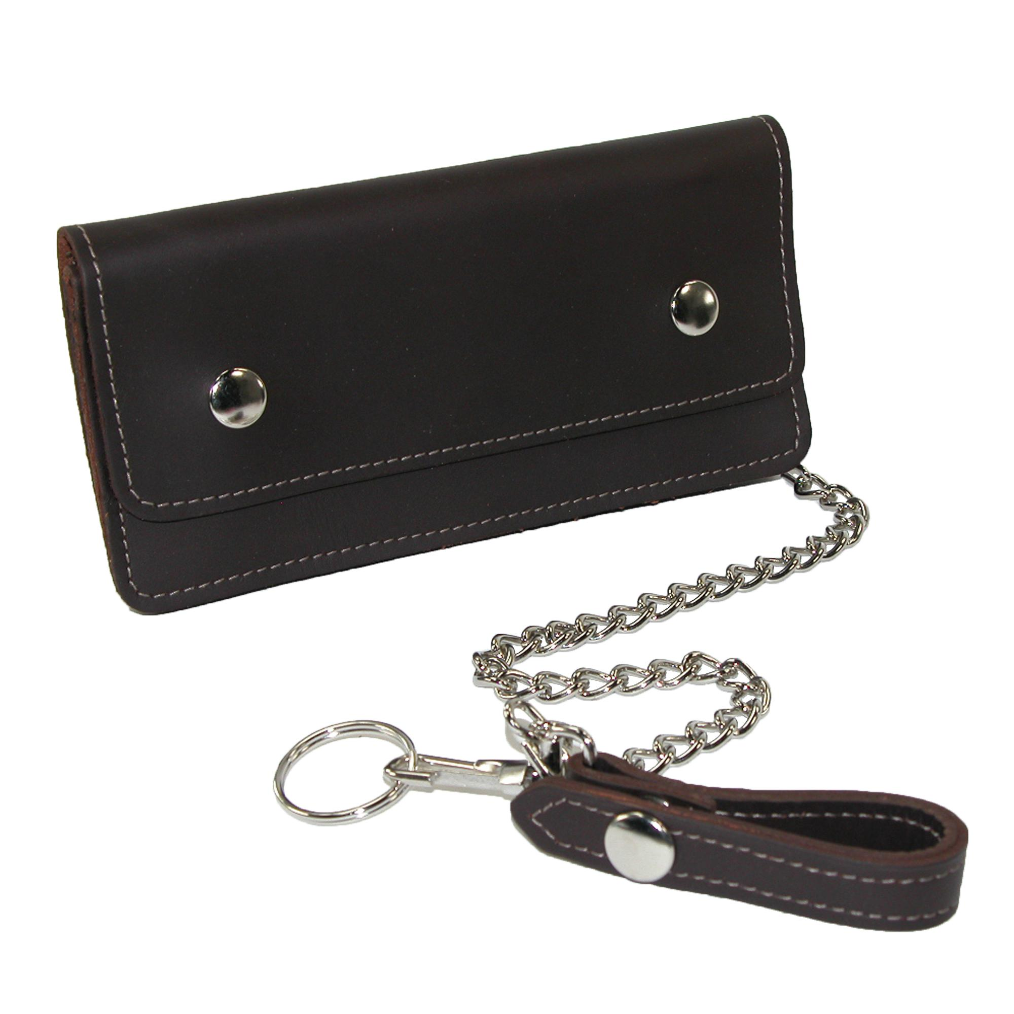 CTM_Men's_Leather_Large_Trucker_Chain_Wallet_-