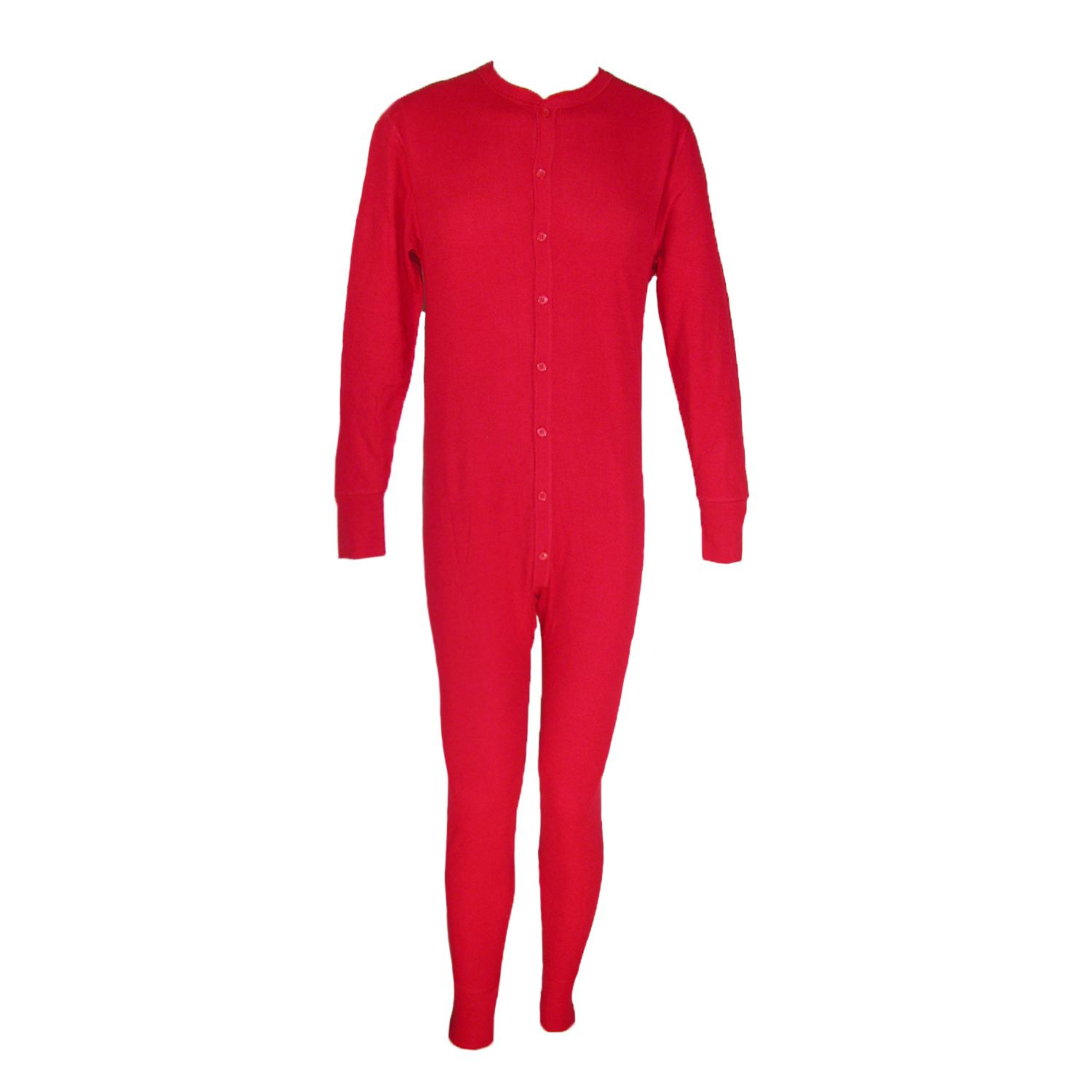 Hanes Mens Big And Tall Thermal Insulated Union Suit