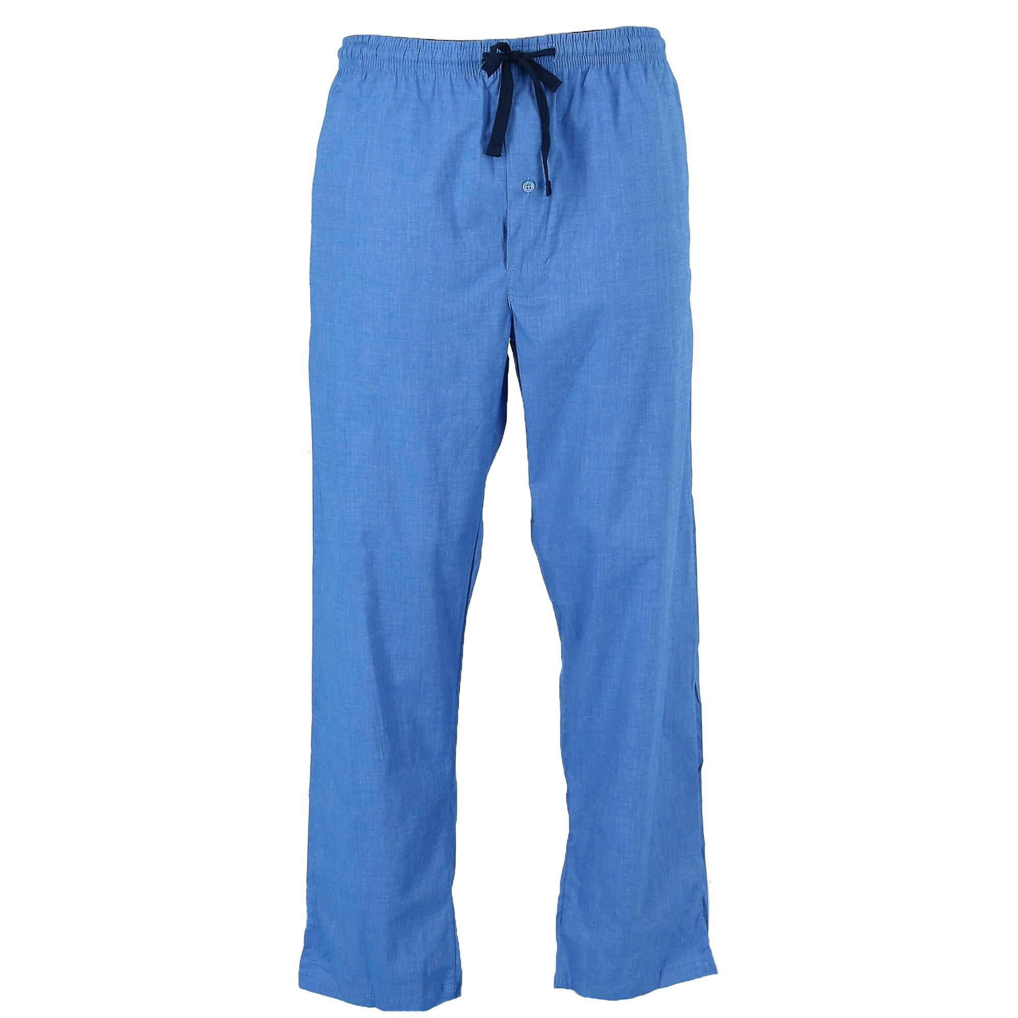 HANES Men's Big & Tall Woven  Drawstring Sleep Pajama Pan...