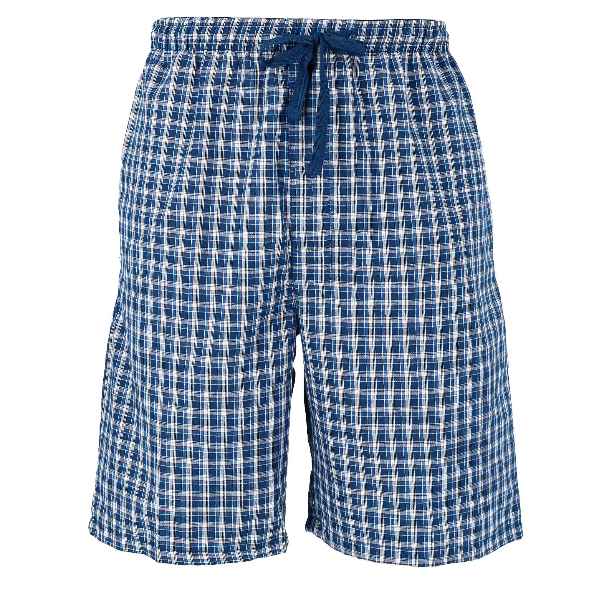 New Hanes Men S Cotton Madras Drawstring Sleep Pajama