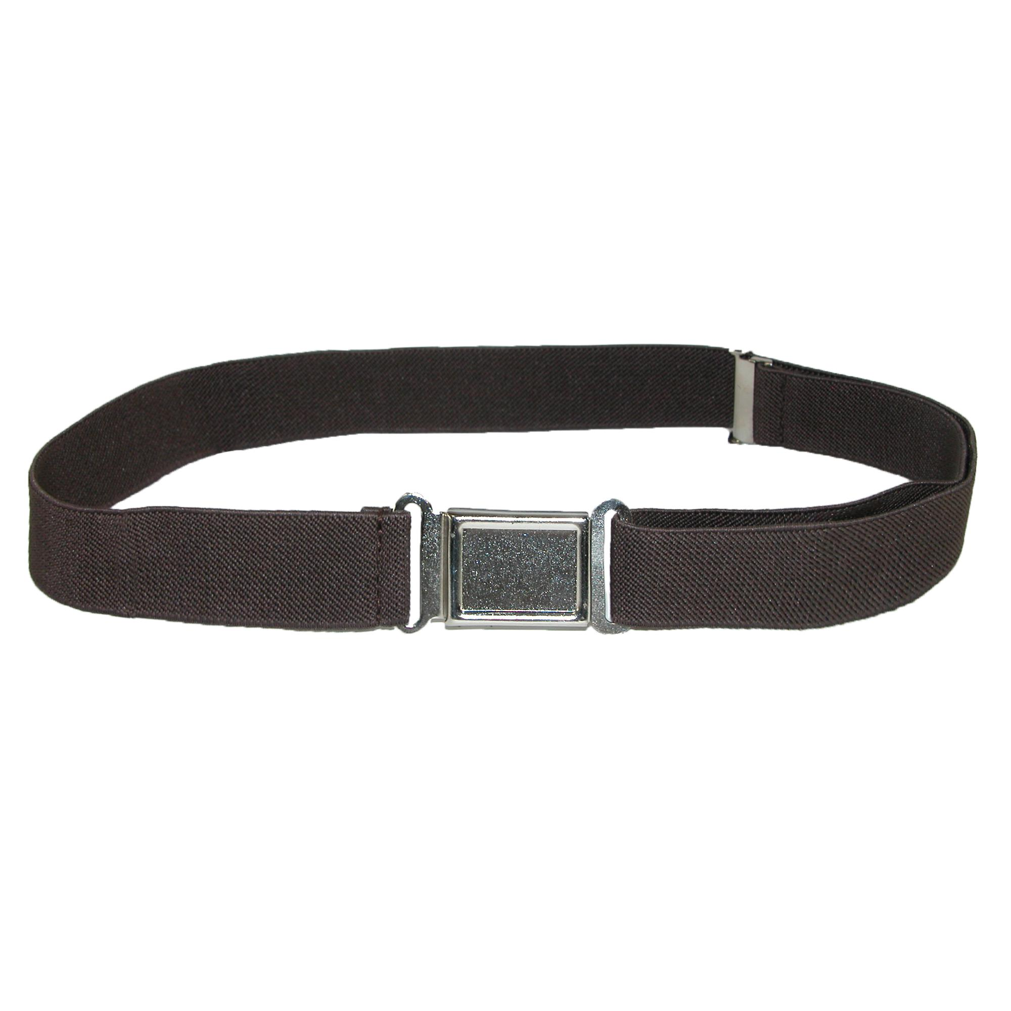 CTM Kids' Elastic Stretch Belt with Magnetic