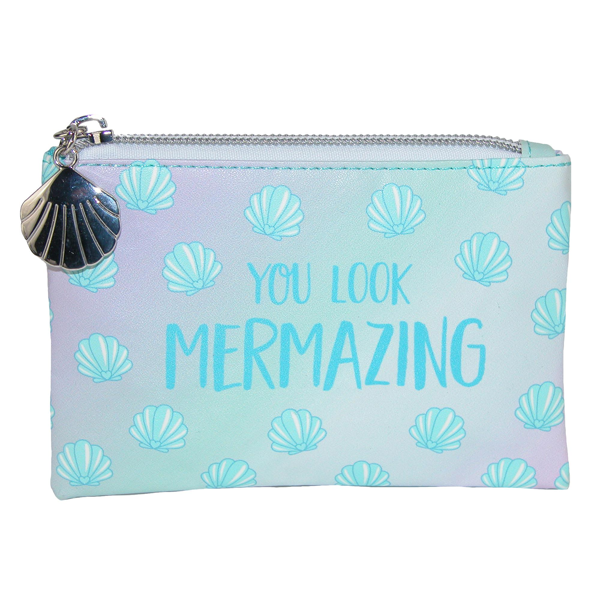 Sass & Belle Mermaid Treasures Coin Purse Wallet - (RS-FRAN022) photo