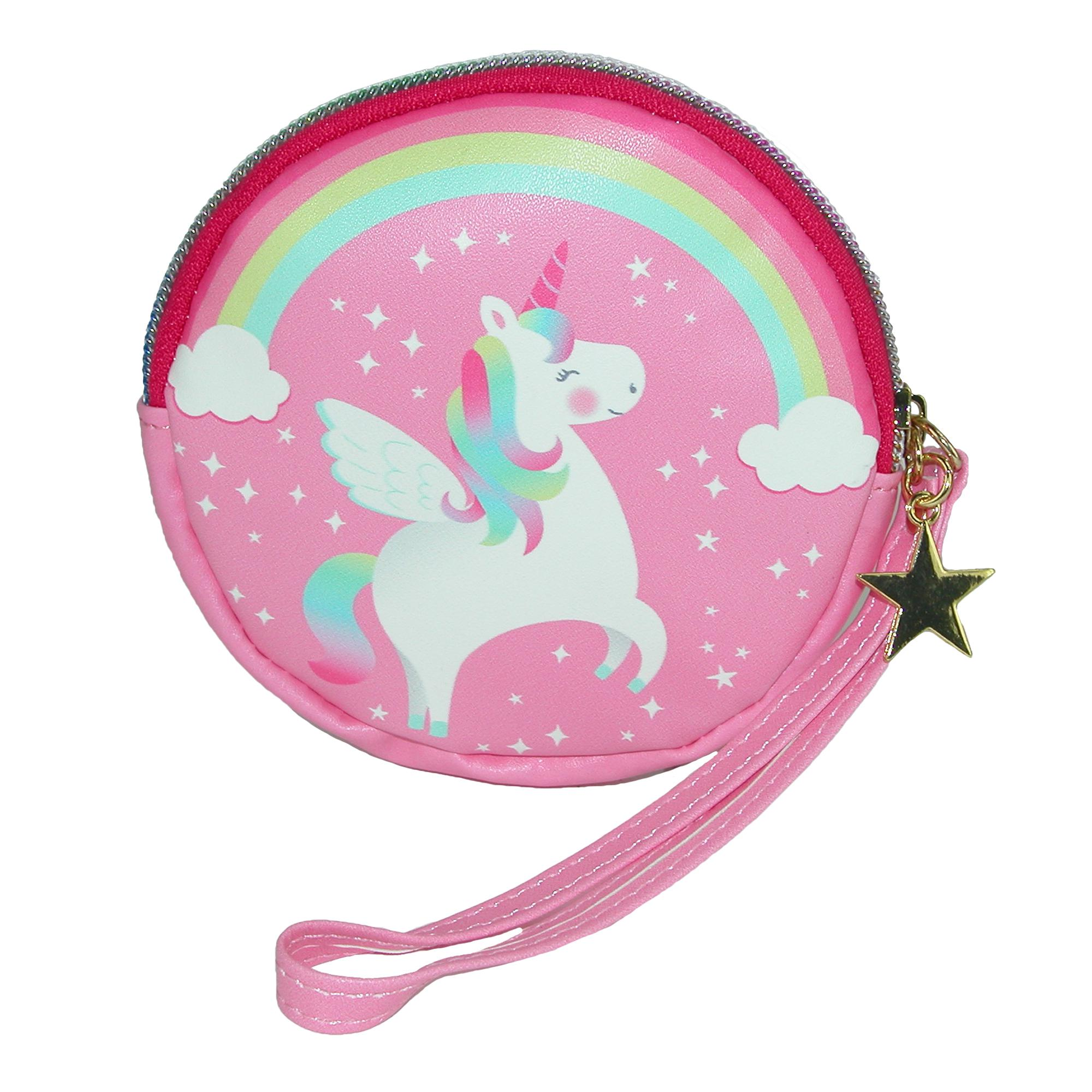 Disney Princess wallet Licensed zipper coin purse Belle Cinderella new