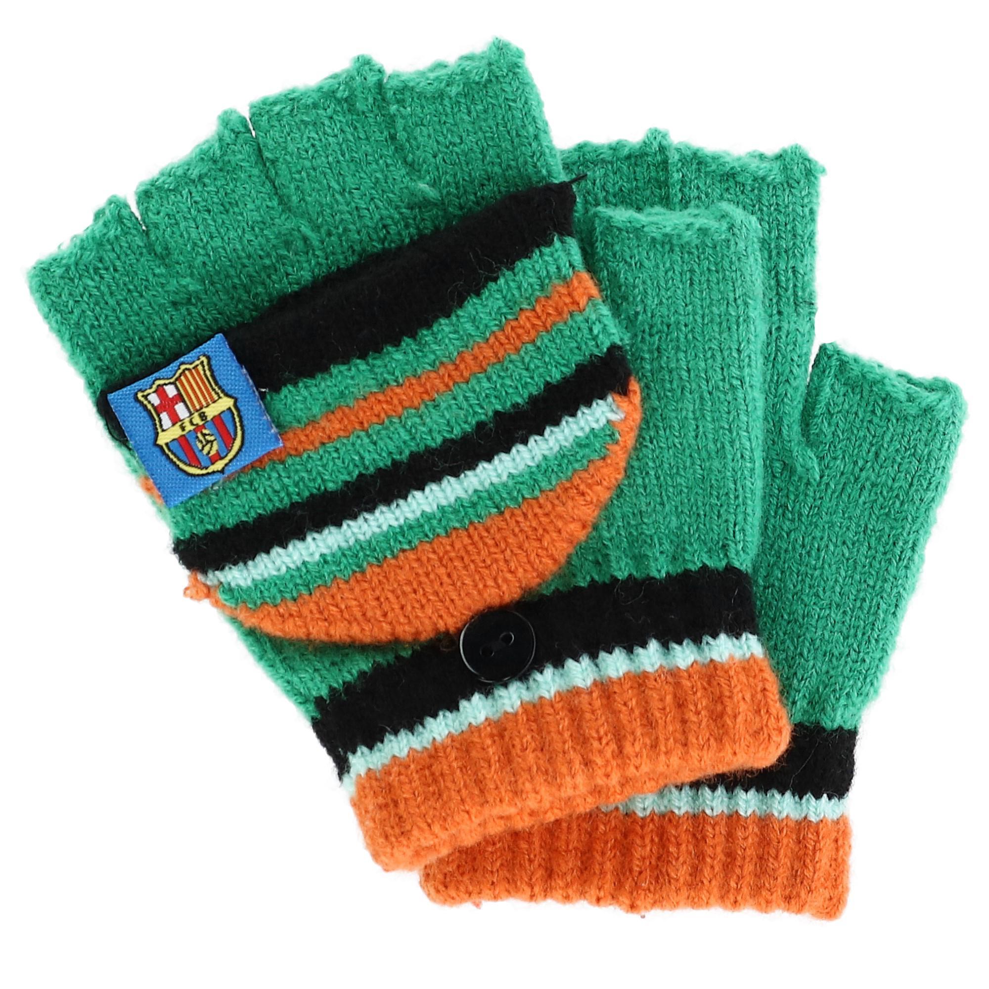 Foemo Kids 5-8 Knit Convertible Winter Mitten