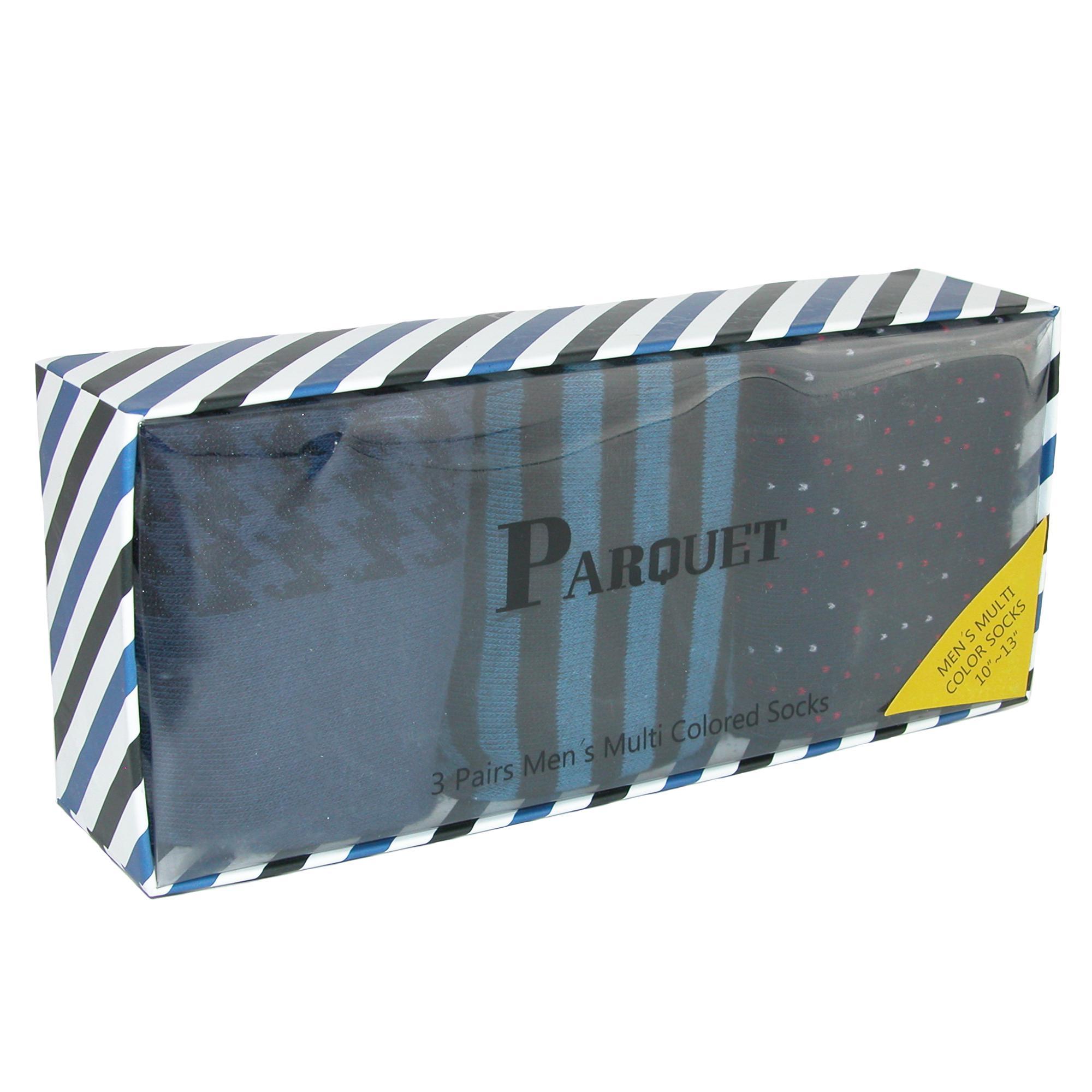 New-Parquet-Men-039-s-Dress-Sock-Gift-