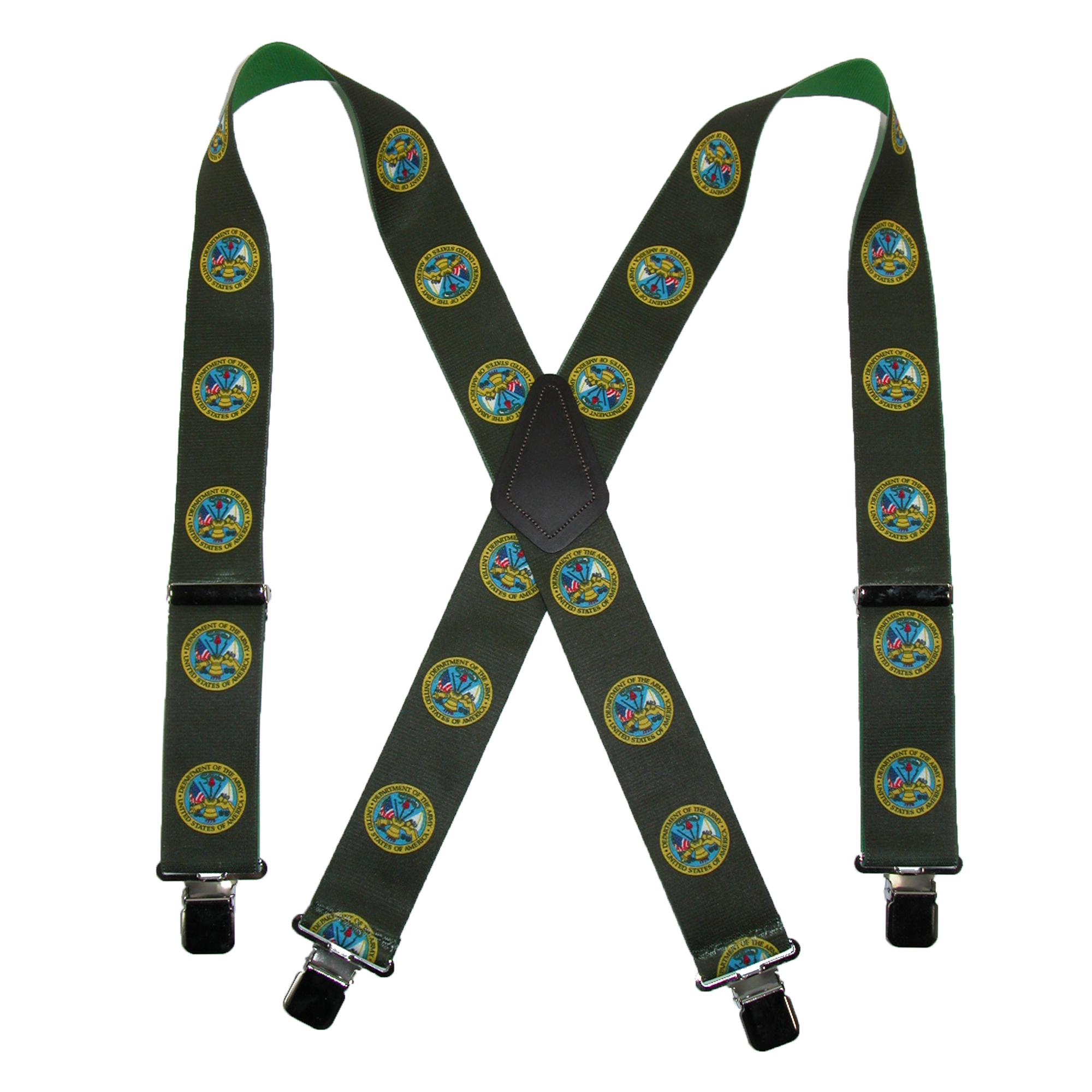 CTM_Mens_Elastic_US_Army_Clip_End_Suspenders_Tall_Available_