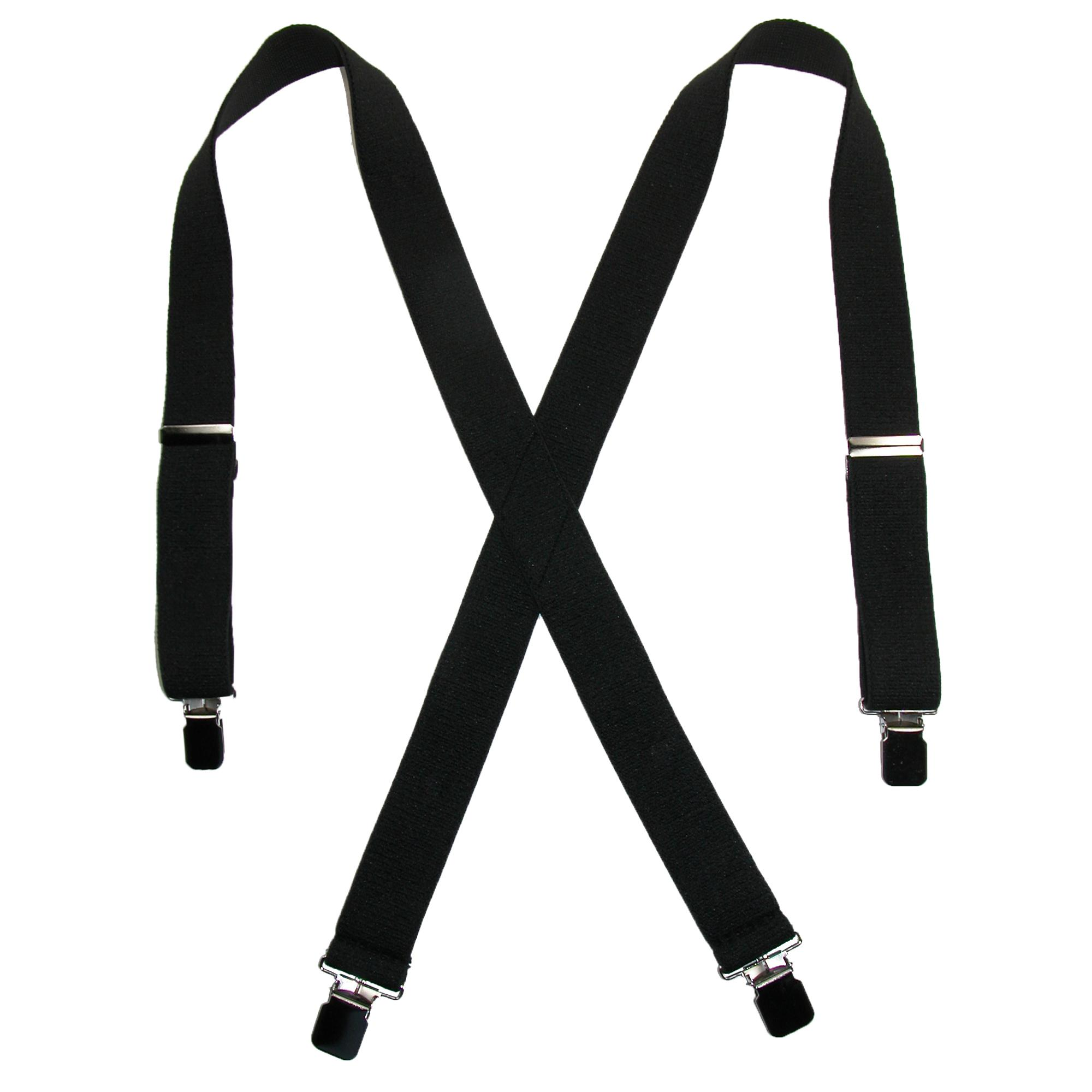 5d1ad215790 Details about New CTM Men s Terry Casual Elastic Clip-End 1 1 2 Inch  Suspenders