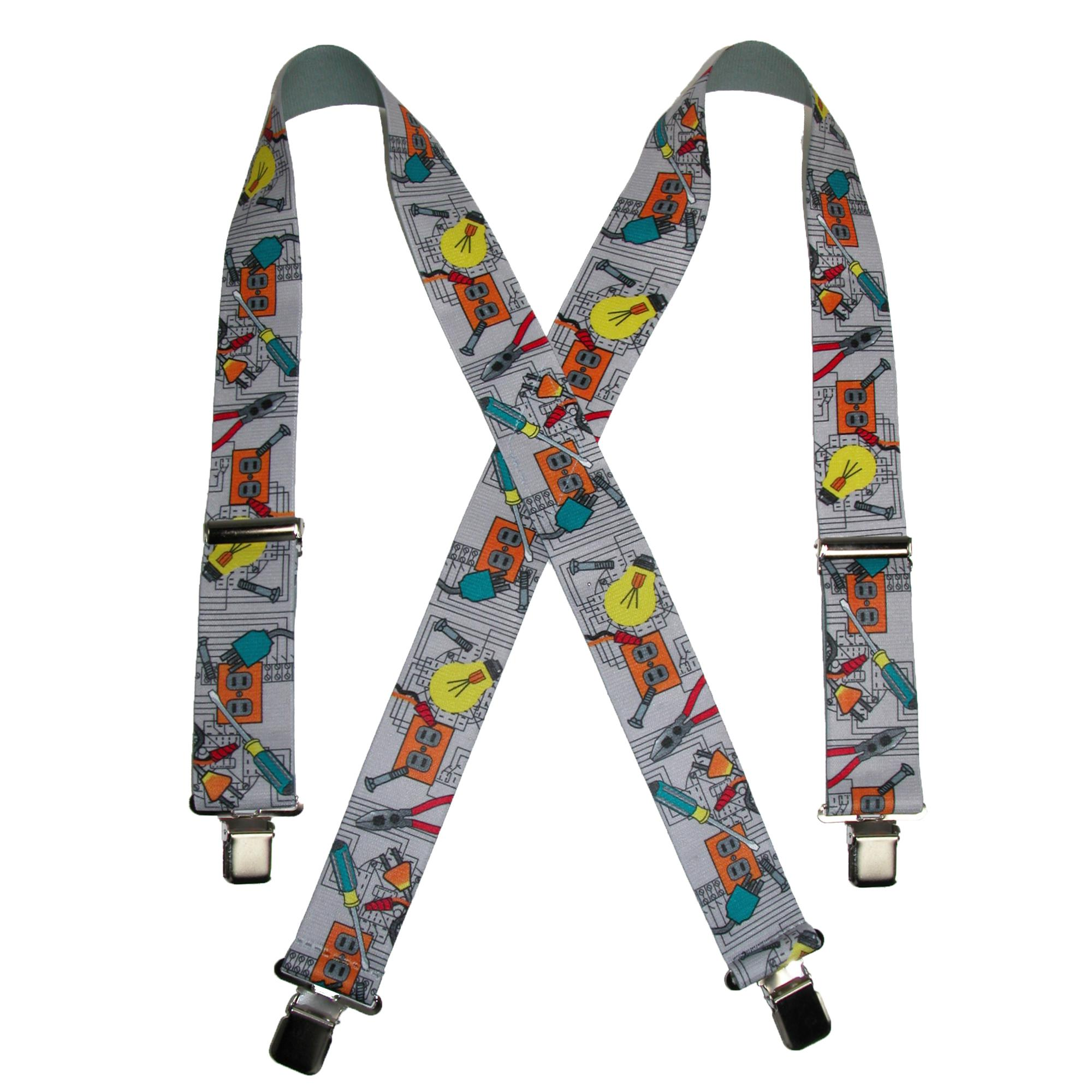 CTM_Mens_Elastic_ClipEnd_2_Inch_Electrician_Work_Suspenders_