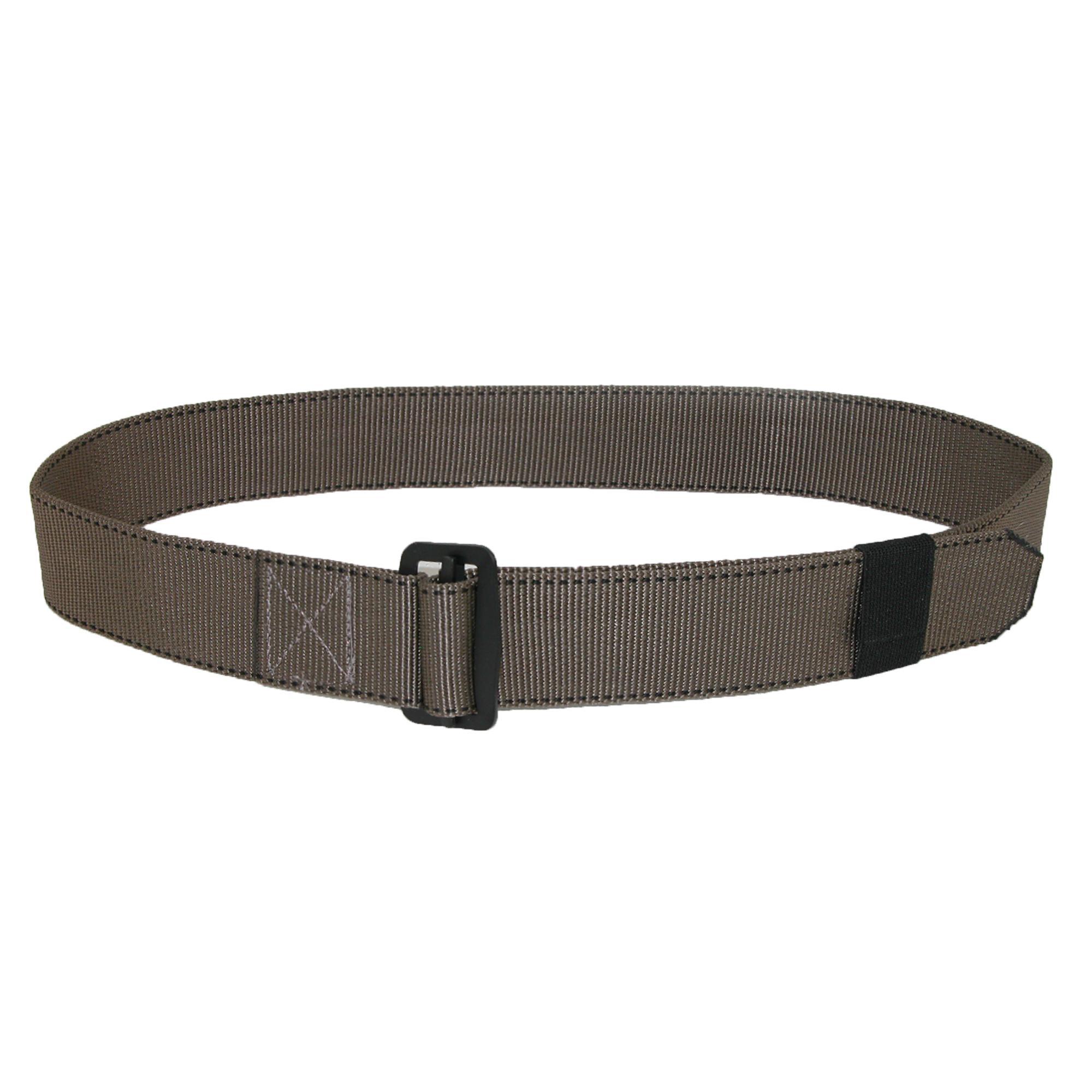 Ctm Mens Big & Tall Fabric 1 3/4 Inch Bdu Adjustable Belt