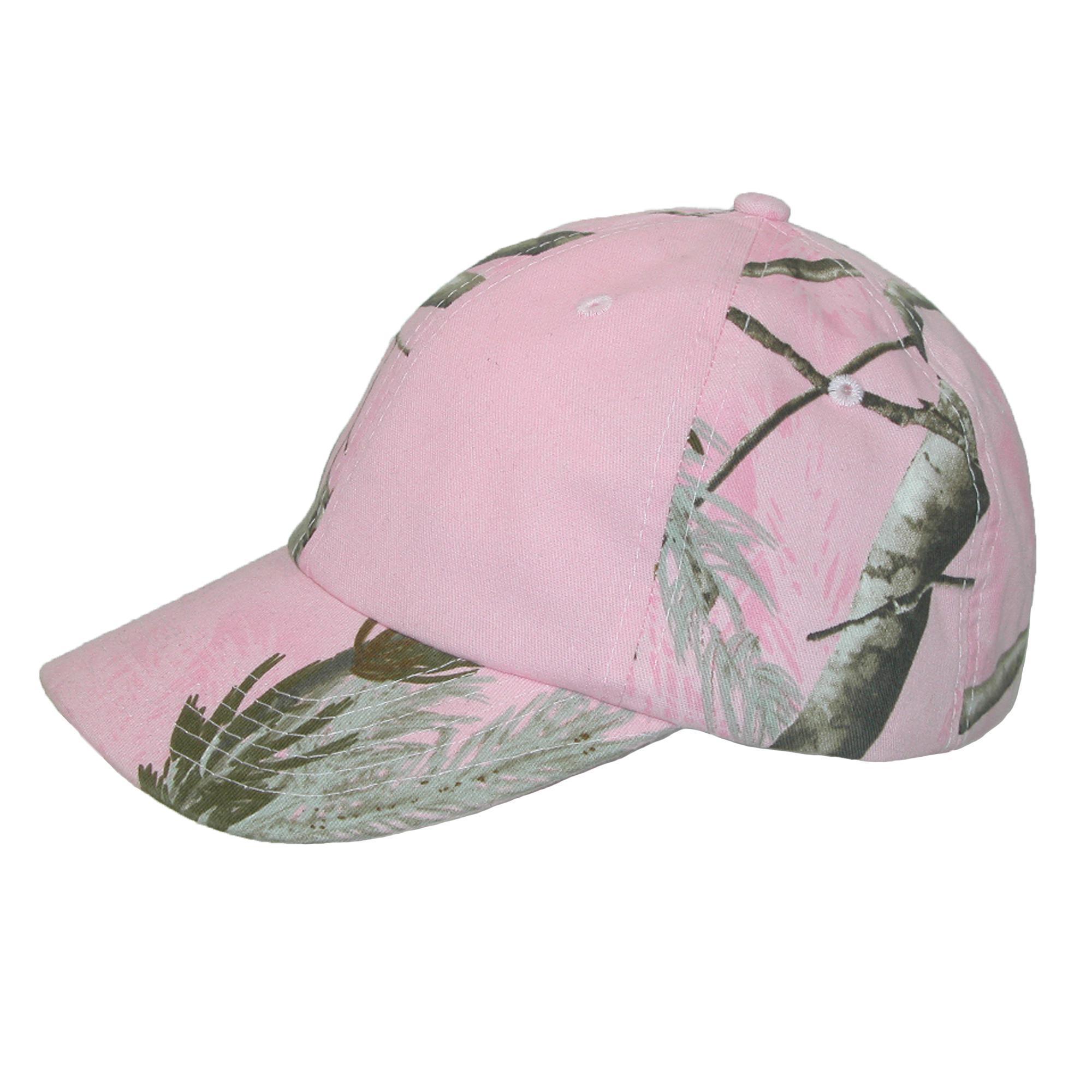 49e6bb153b0 New CTM Women s Kati Treestand Pink Camo Baseball Hat 847164082257 ...