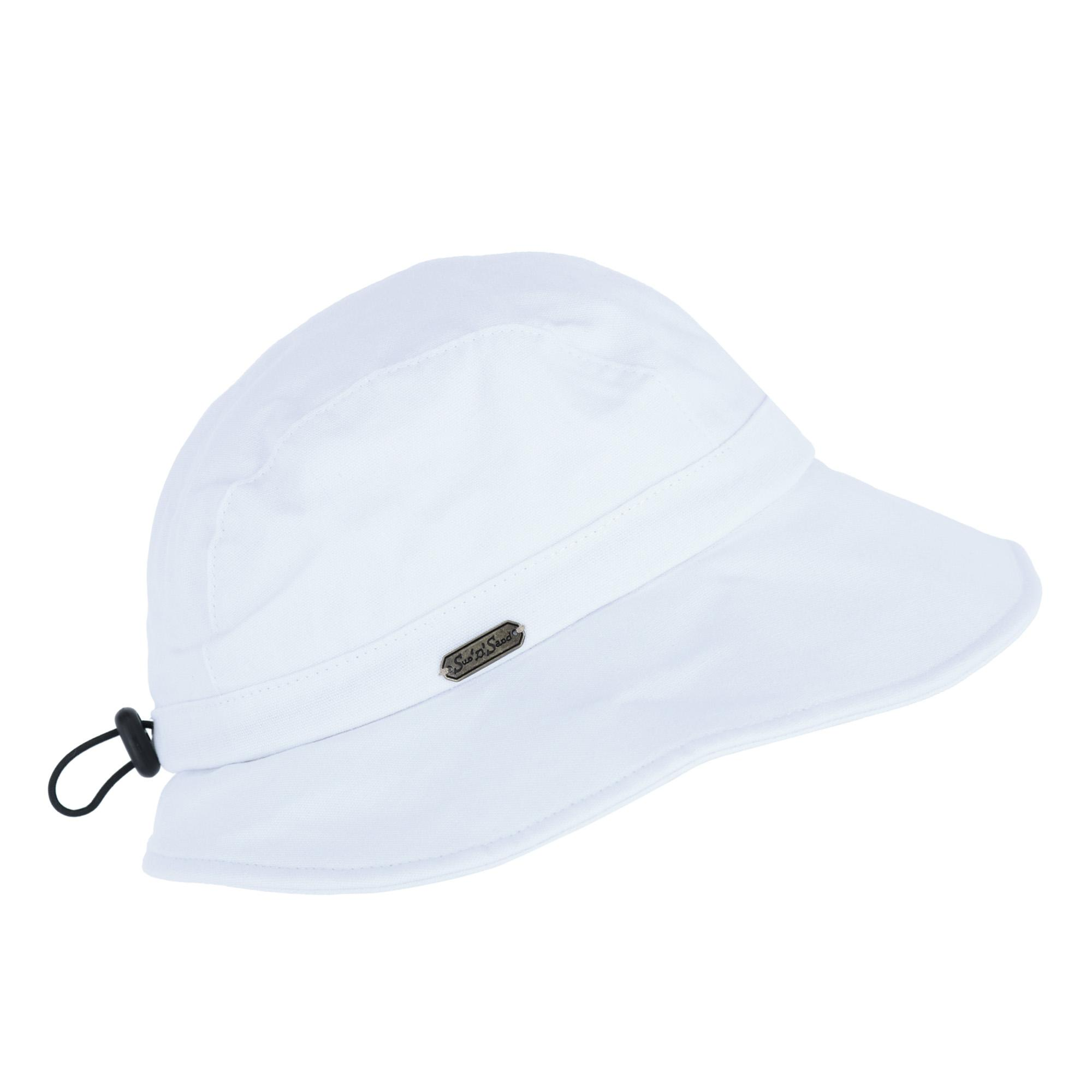 051b784986425 Sun N Sand Women s Cotton Packable Facesaver Hat with Adjustable Toggle