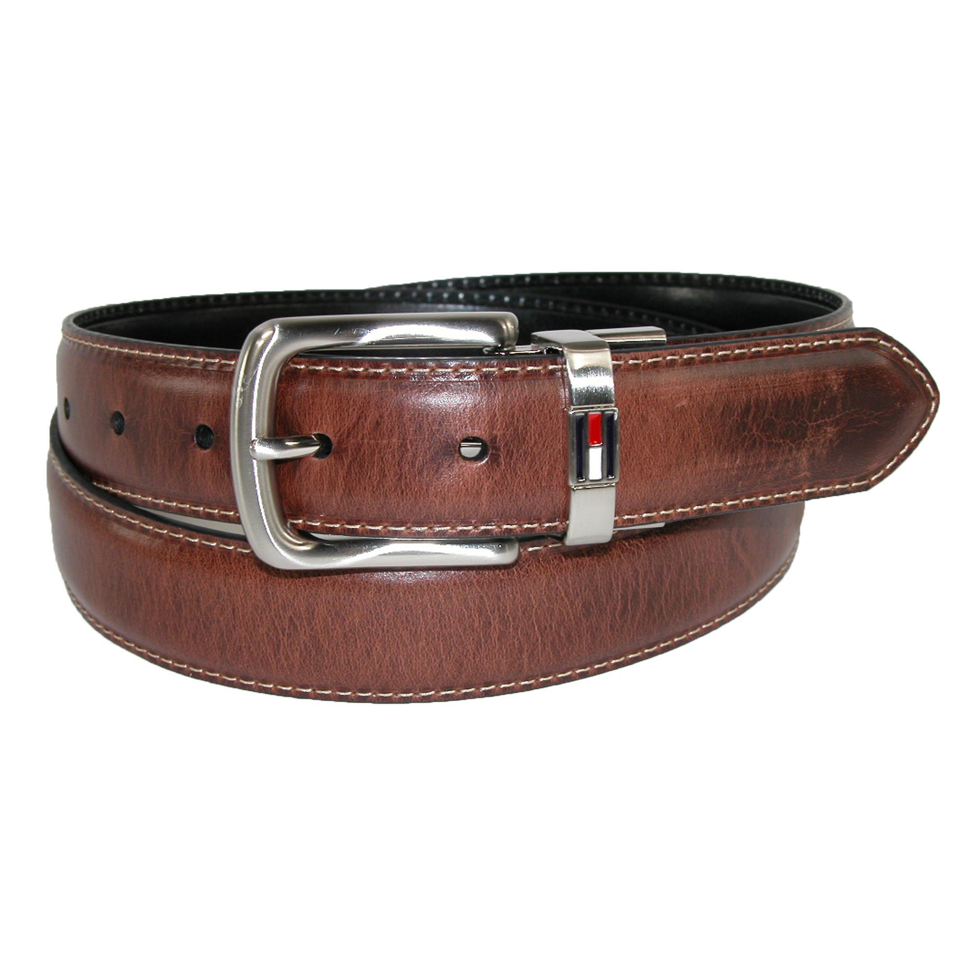 Tommy_Hilfiger_Men's_Leather_Reversible_Belt_with_Flag_Logo_-_Brown_to