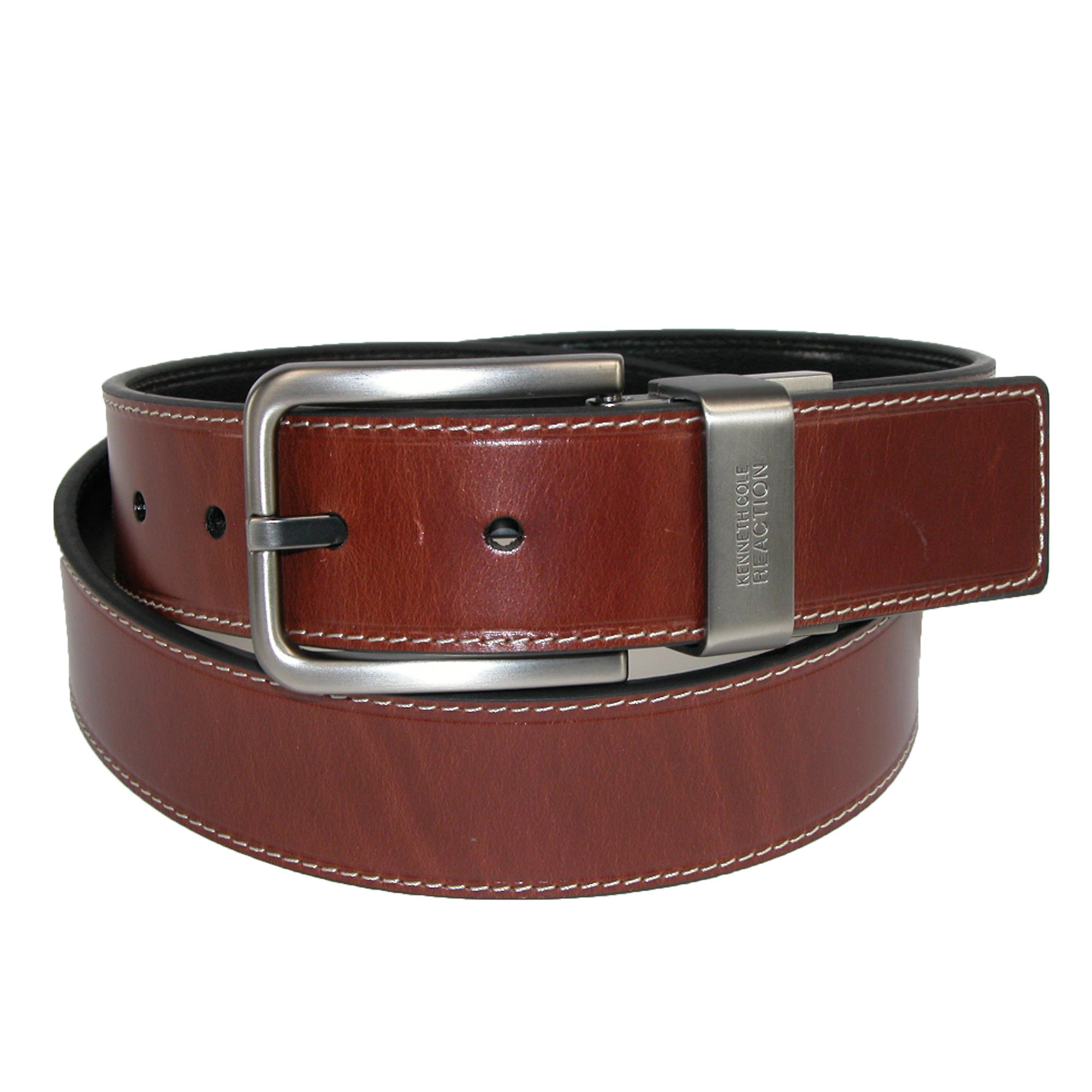 Kenneth_Cole_Reaction_Mens_Oil_Tanned_Leather_Reversible_Belt_