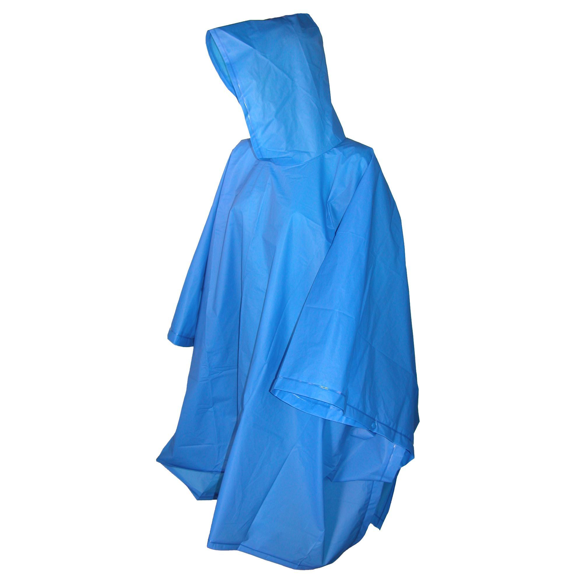 Totes_Hooded_Pullover_Rain_Poncho_with_Side_Snaps_-_Royal_one_size
