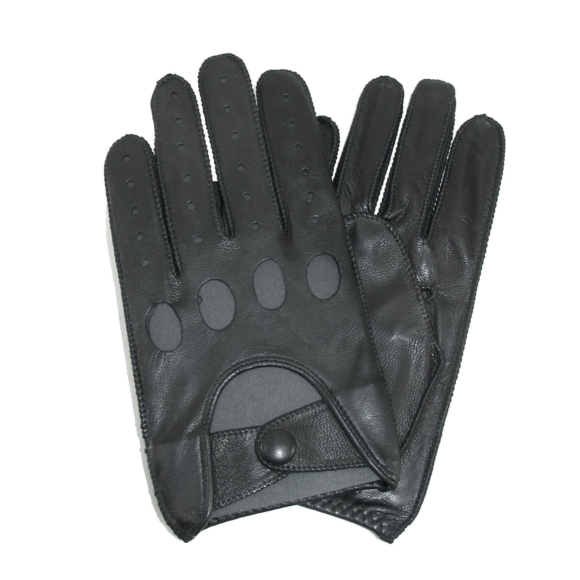 Fingerless driving gloves ebay -  Picture 3 Of 4