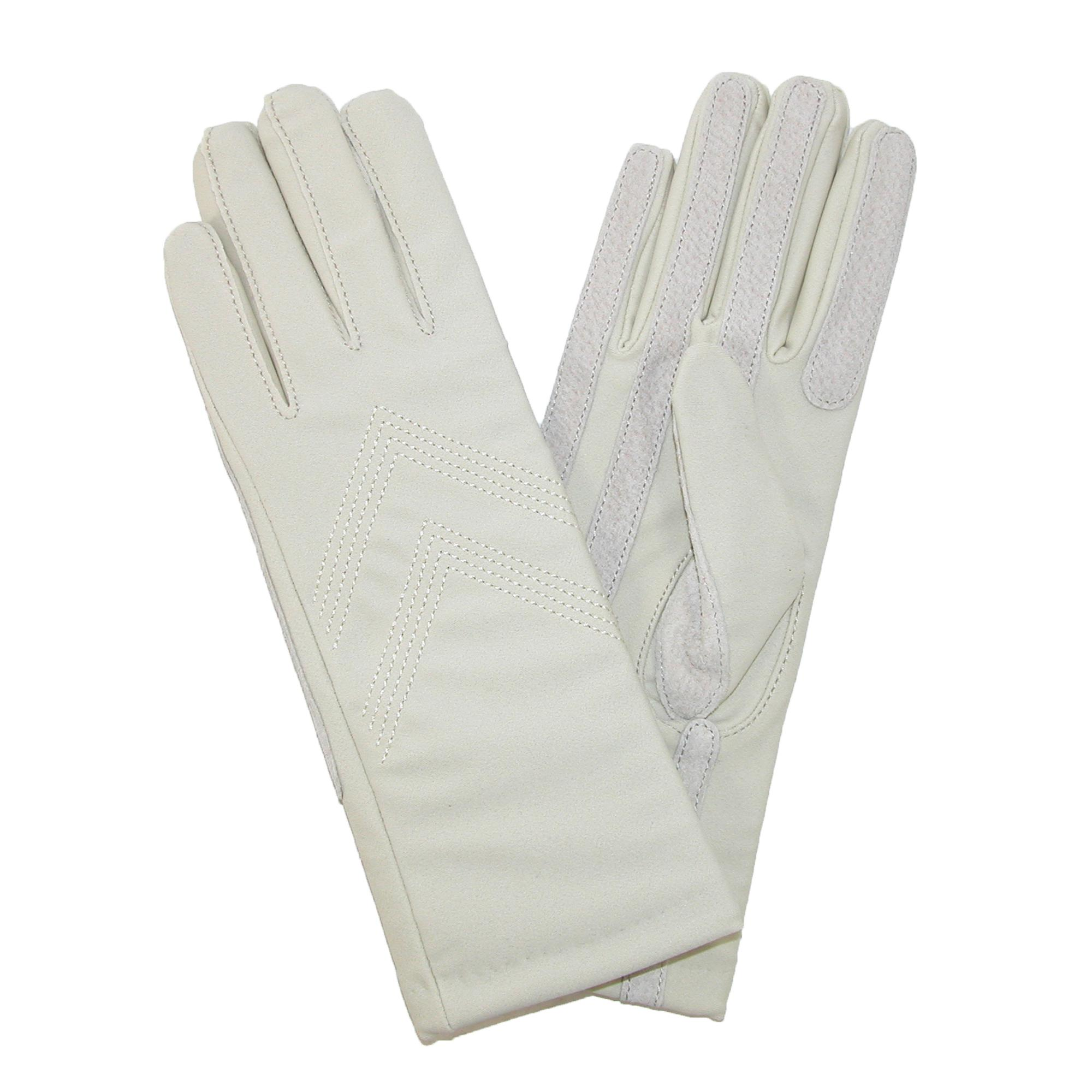 Isotoner womens leather gloves with fleece lining - Our Top Pick
