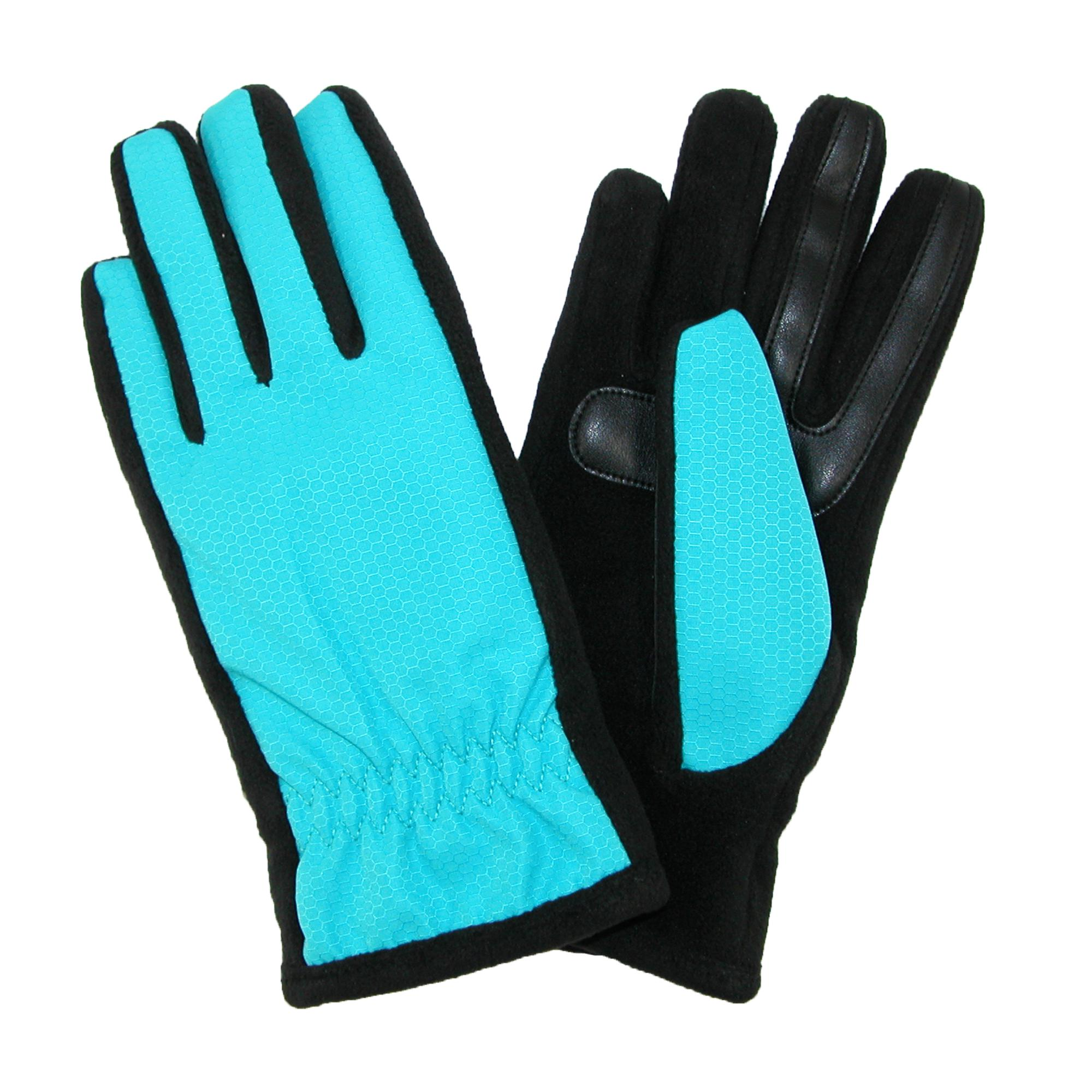 Isotoner Womens Nylon Smartouch Winter Texting Gloves