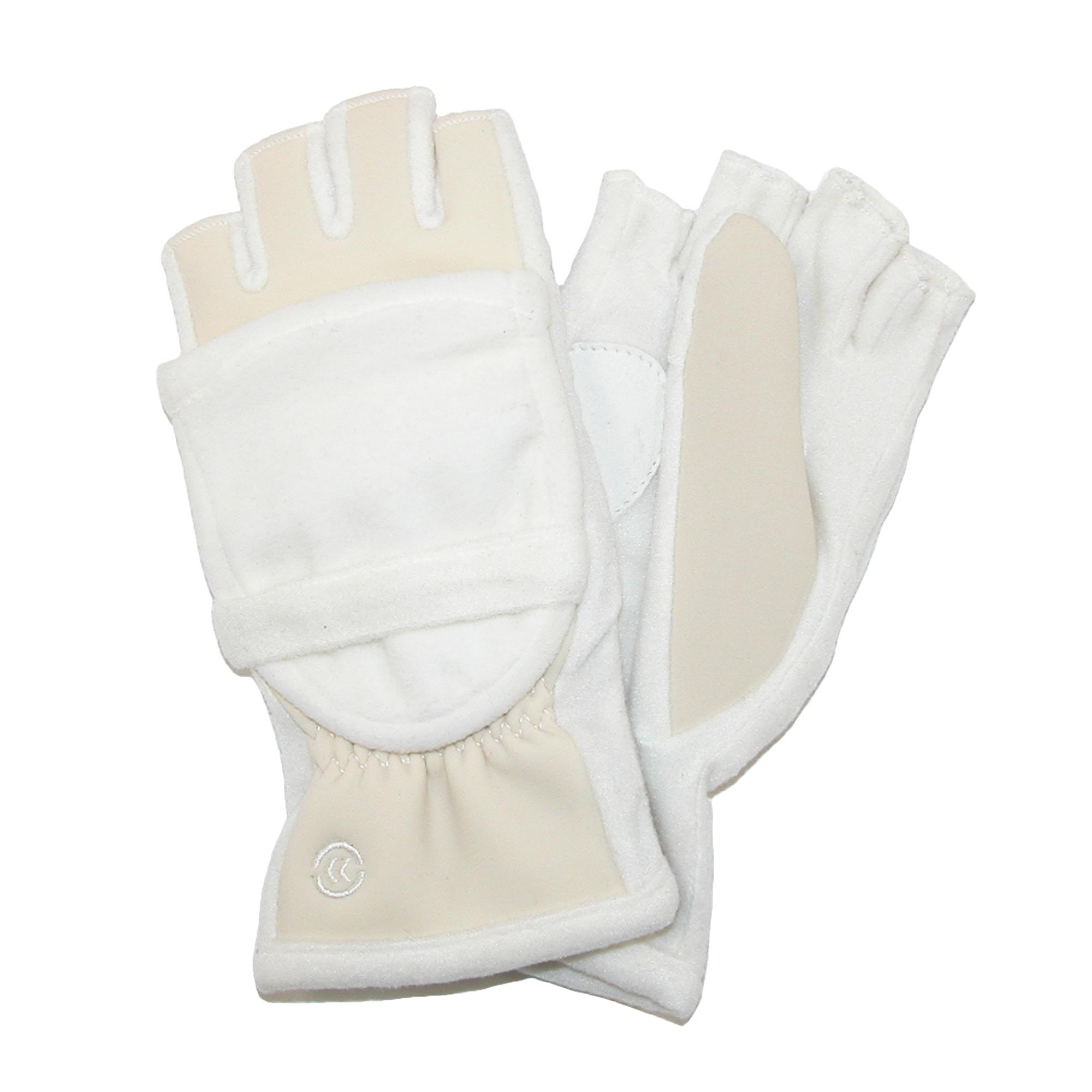 Isotoner womens leather gloves with fleece lining - Picture 27 Of 36