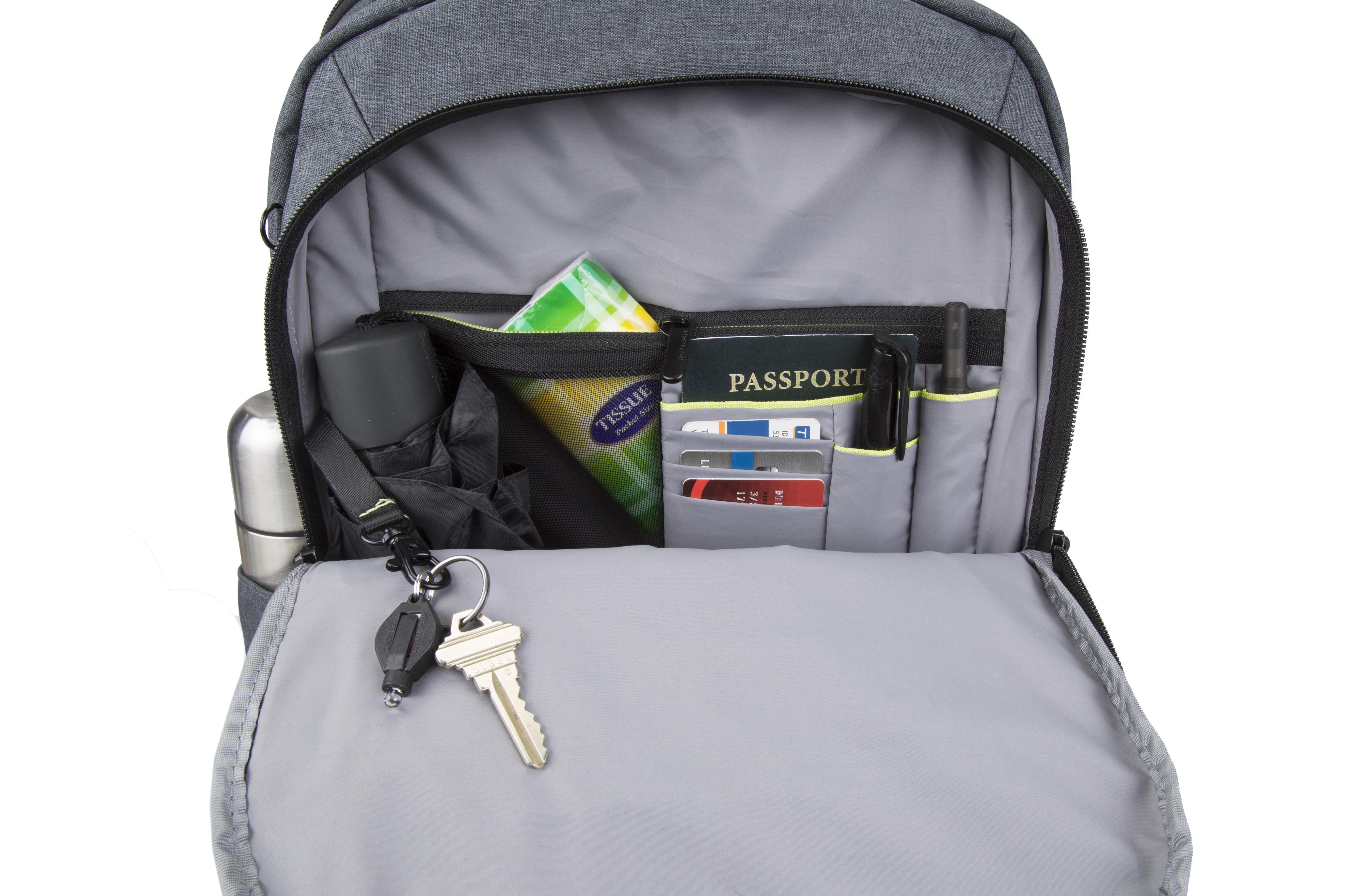 New-Travelon-Men-039-s-Anti-Theft-Urban-Backpack thumbnail 4