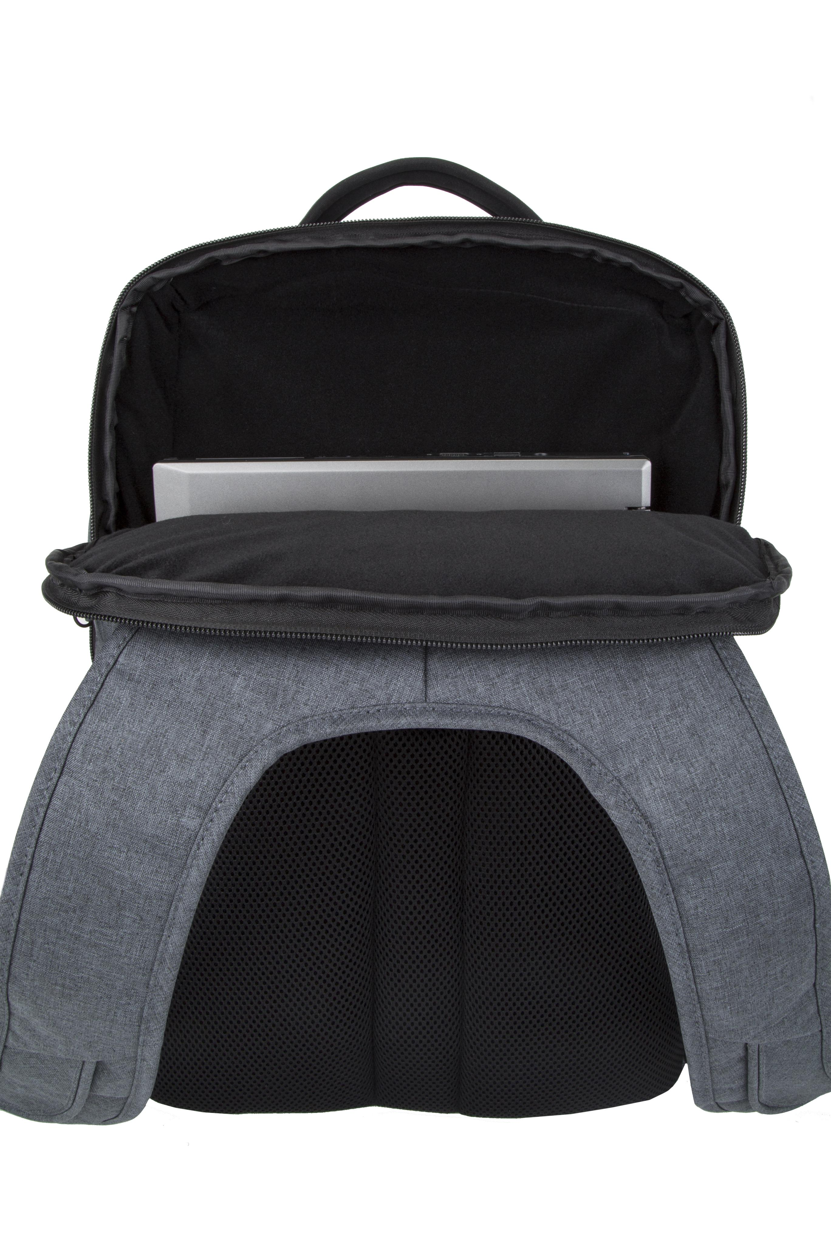 New-Travelon-Men-039-s-Anti-Theft-Urban-Backpack thumbnail 5