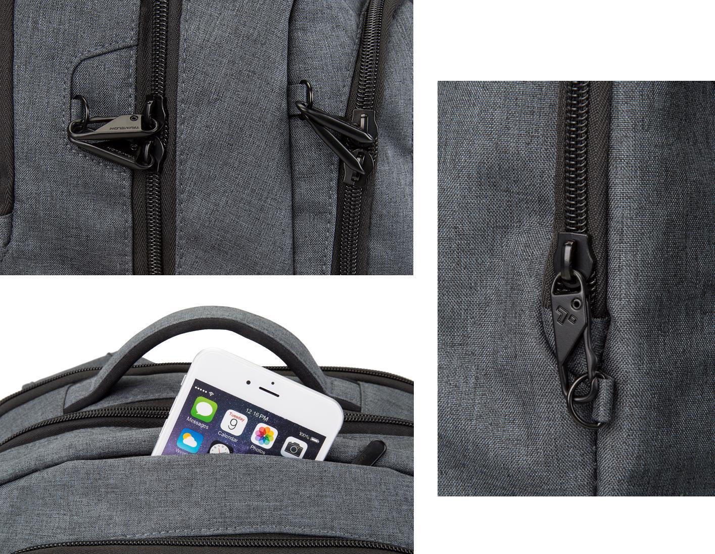 New-Travelon-Men-039-s-Anti-Theft-Urban-Backpack thumbnail 6