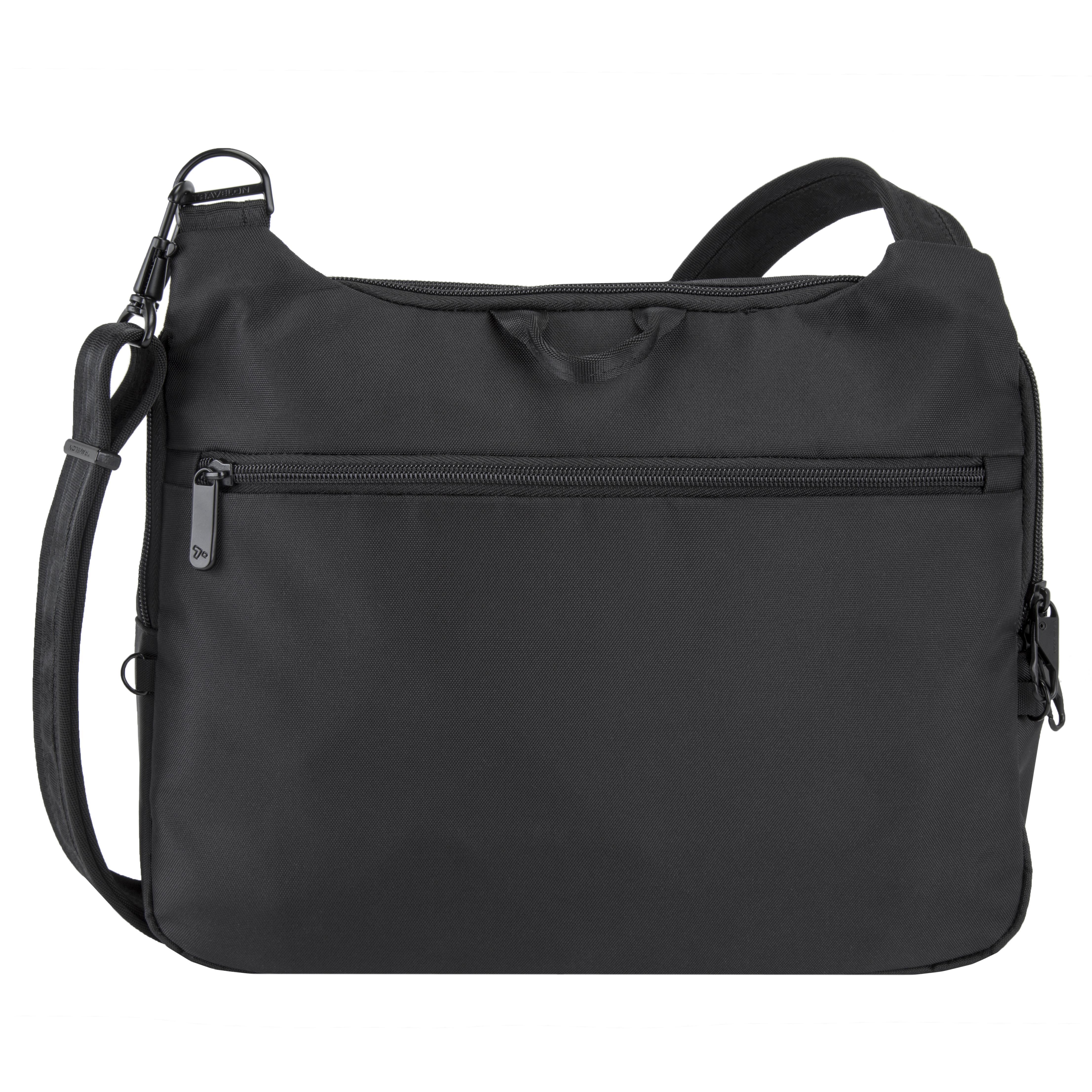 New-Travelon-Men-039-s-Anti-Theft-Urban-E-W-Tablet-Messenger-Bag thumbnail 3