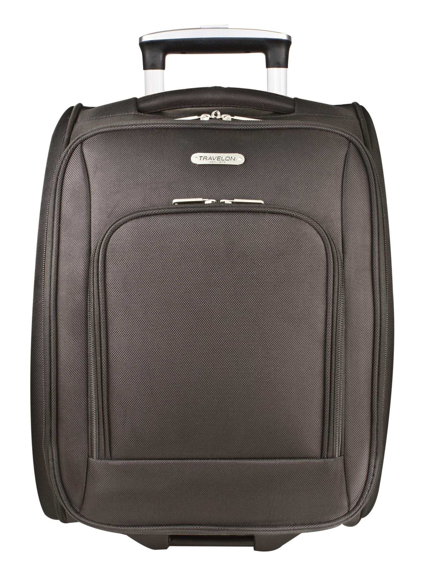 Travelon Wheeled Underseat Carry-On Bag