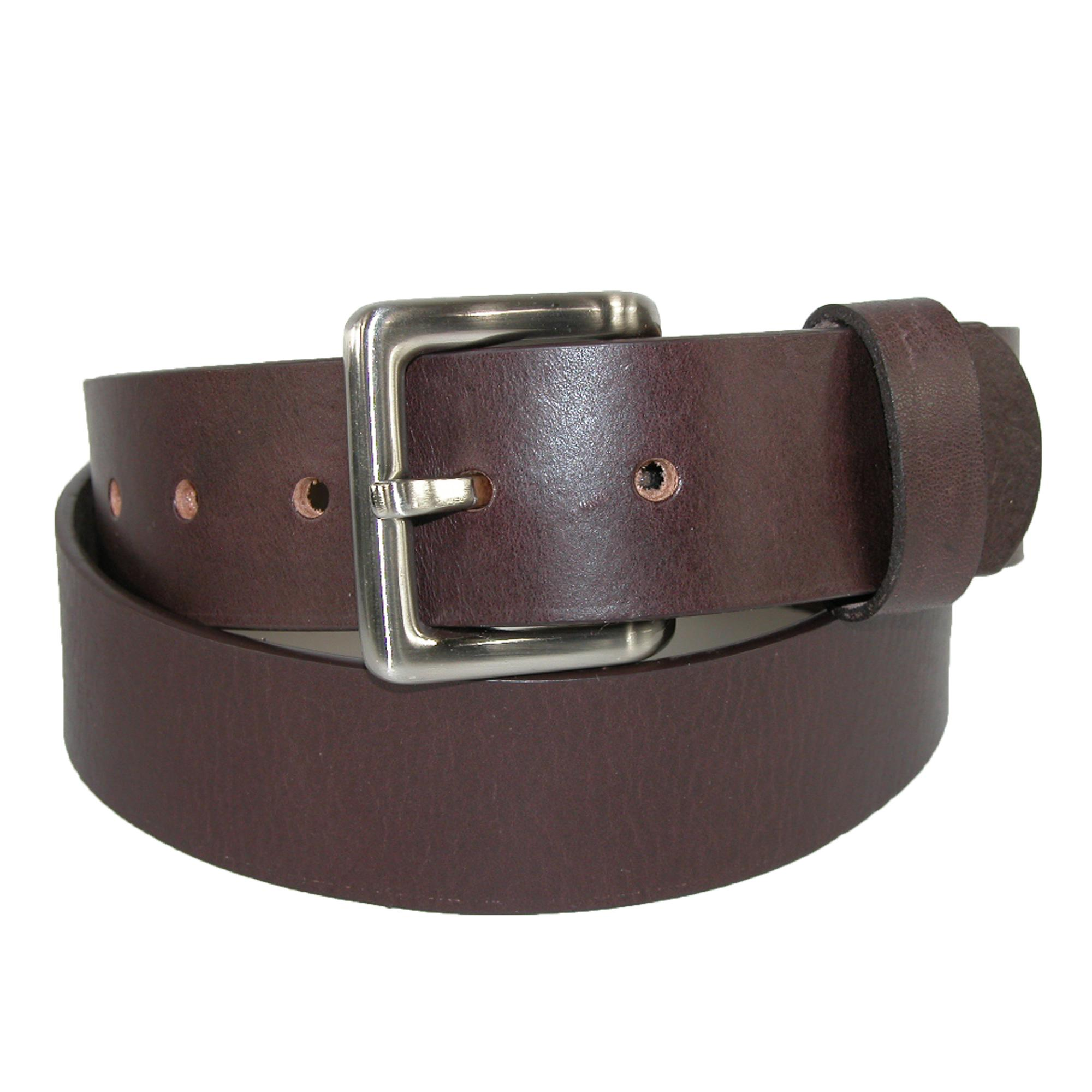 Toneka_Mens_Leather_Bridle_Belt_with_Removable_Buckle_
