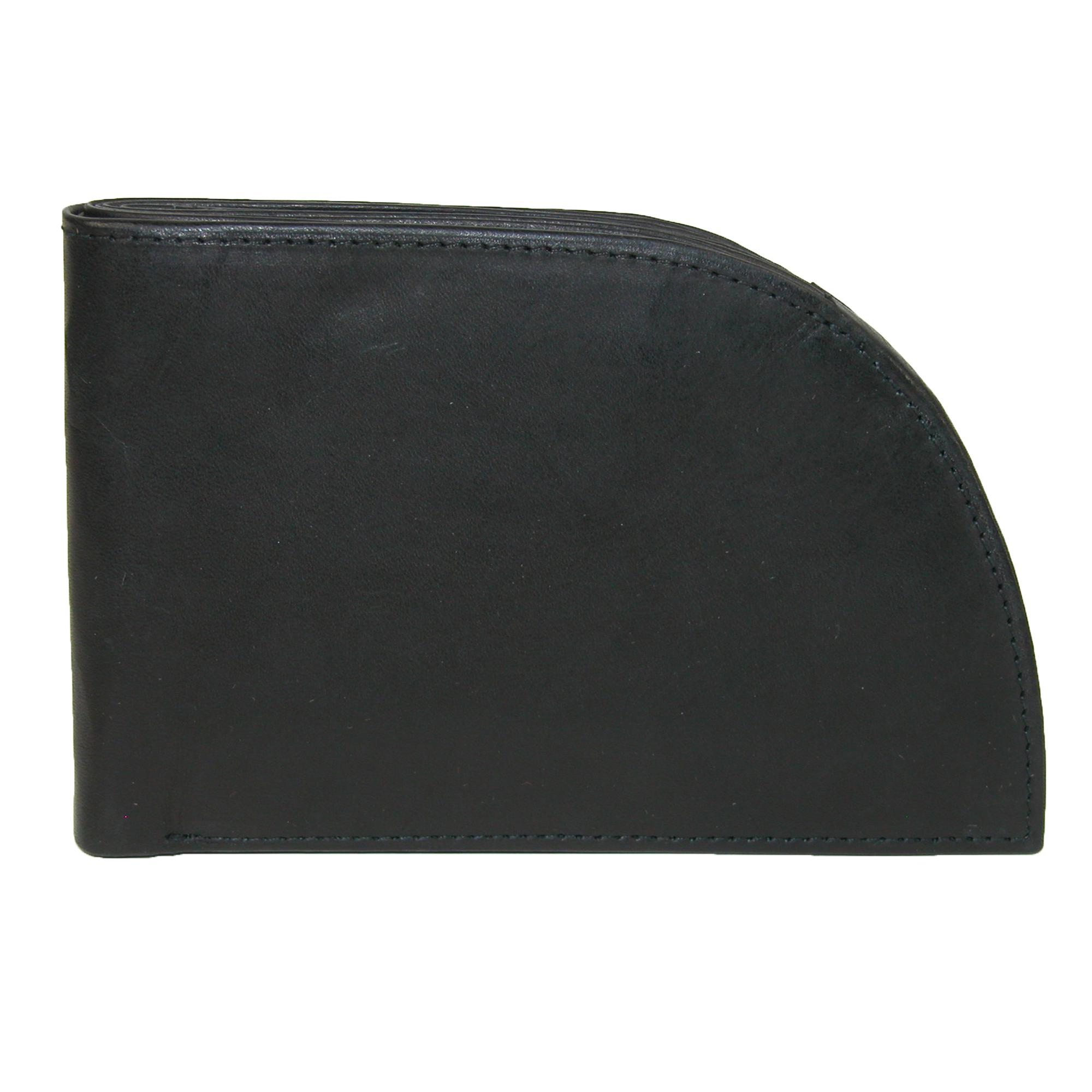 Rogue Men's Leather Front Pocket Wallet With Divider