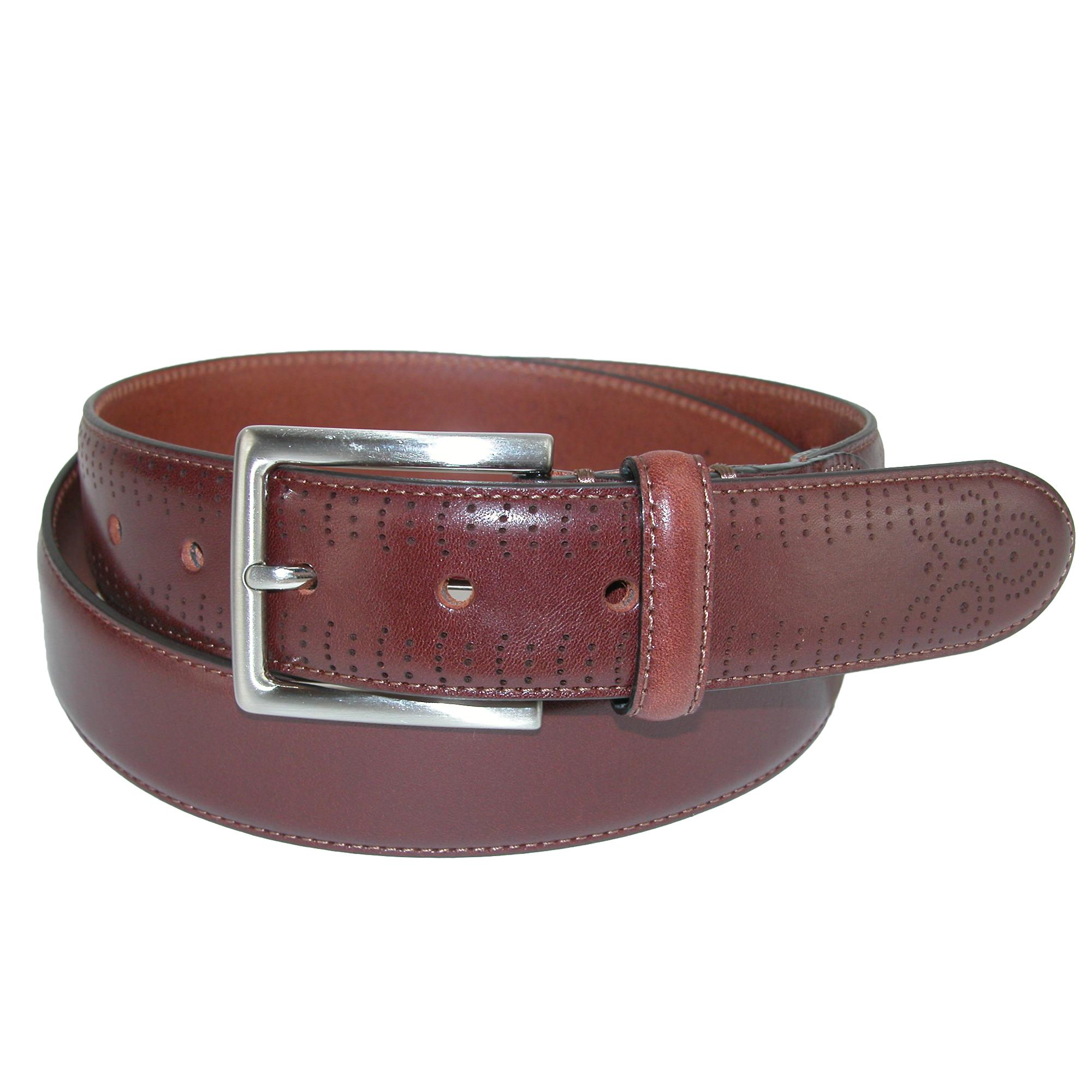 Ctm Mens Elastic Braided Belt With Covered Buckle (pack Of 2)