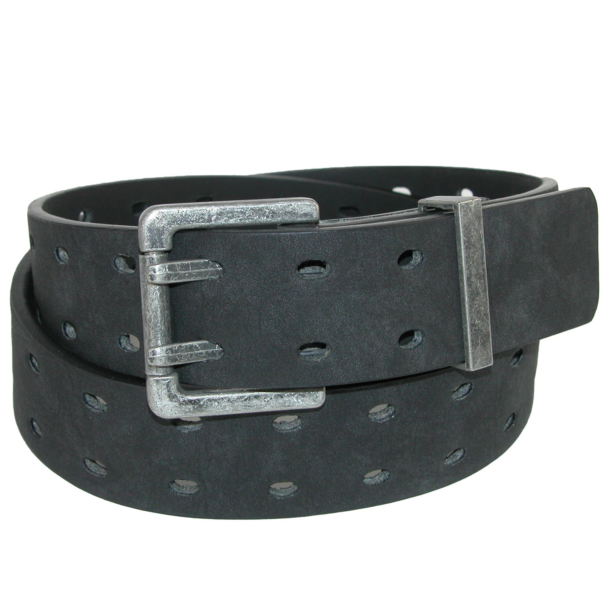 Mens Braided Leather Belt