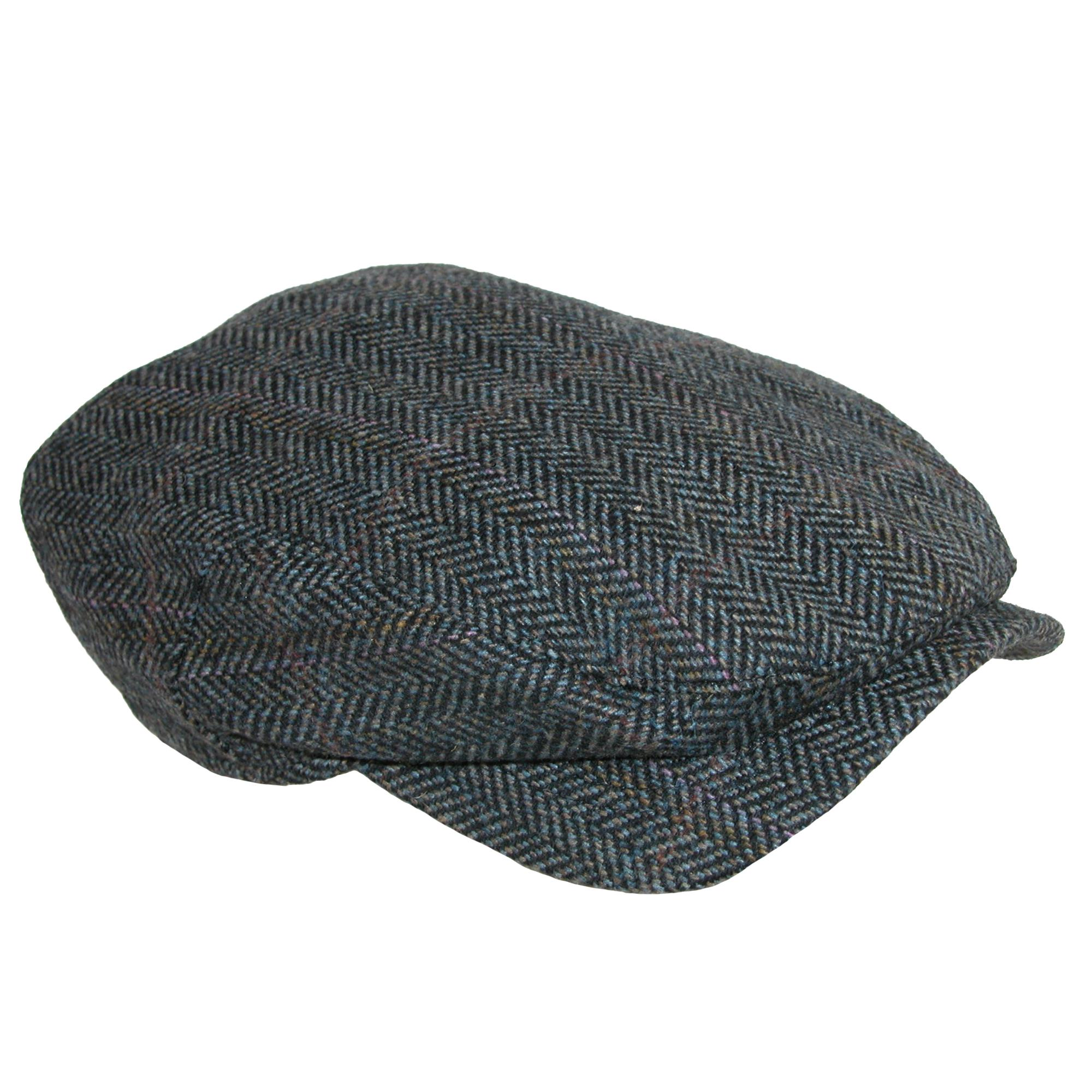 Wigens Men's Ivy Contemporary Herringbone Cap
