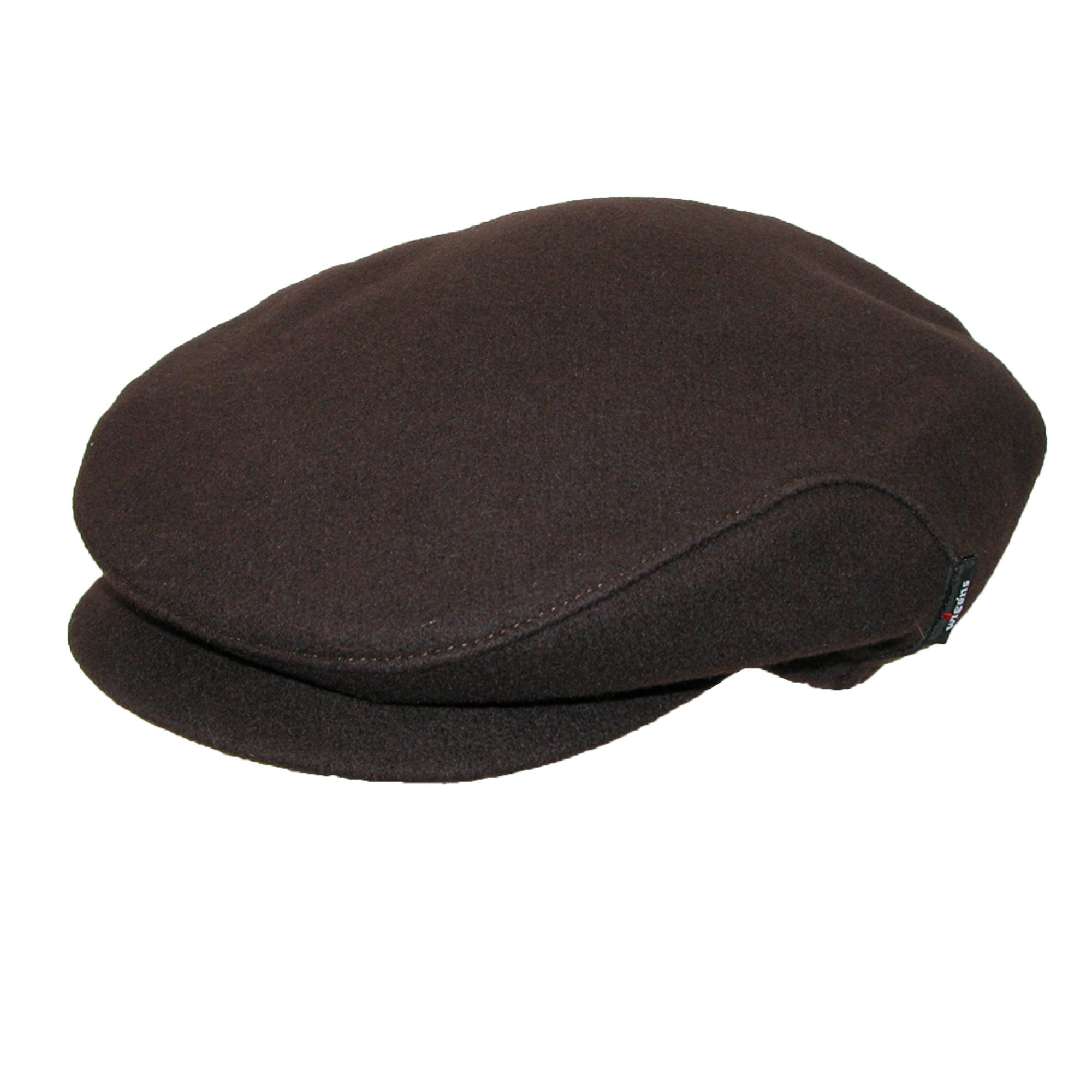 Wigens Men's Christor (Carl) Wool Ivy Cap with Earflaps