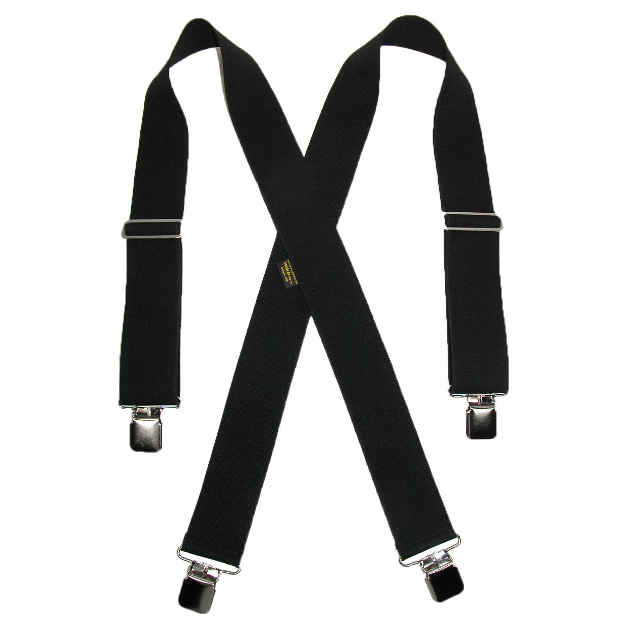 Welch Men's Big & Tall Elastic Clip End 2 Inch Work Suspenders