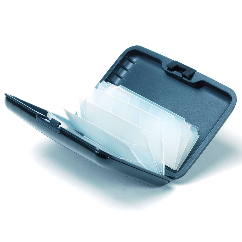 Aluminum-Wallet-Credit-Card-Holder-RFID-Protection-Light-Durable-Safe-amp-Stylish thumbnail 10