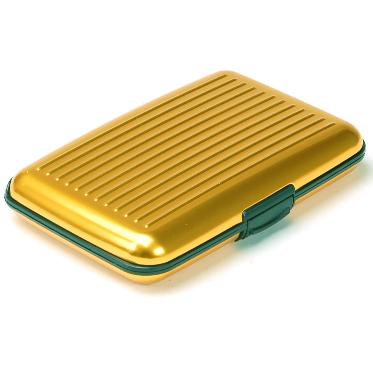 Aluminum Wallet Credit Card Holder Rfid Protection Light