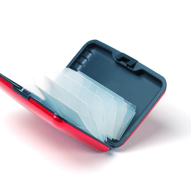 Aluminum-Wallet-Credit-Card-Holder-RFID-Protection-Light-Durable-Safe-amp-Stylish thumbnail 22