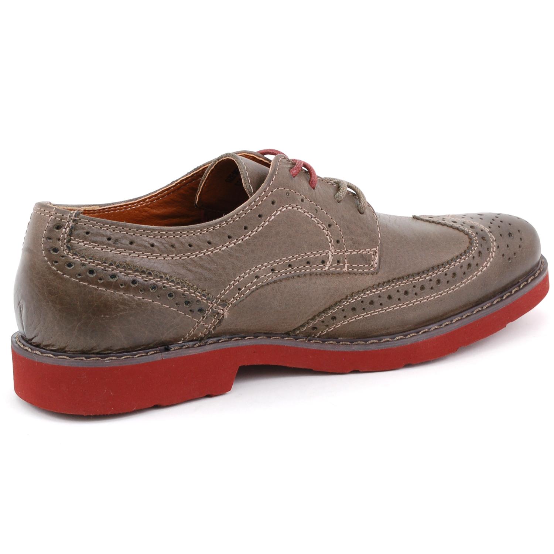 Mens Black Wingtip Oxford Shoes