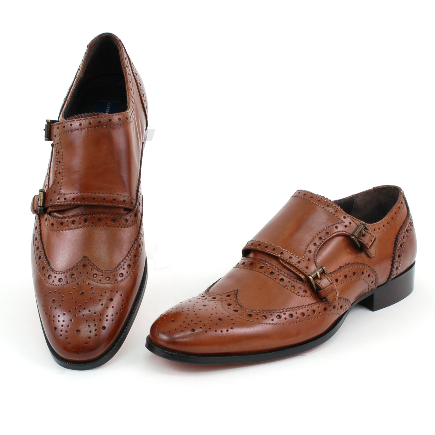Giorgio Brutini Double Monk Strap Loafer
