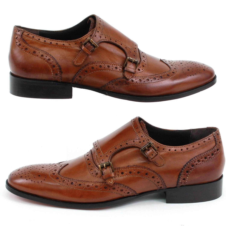 Shoes Giorgio Brutini Leather Double Monk